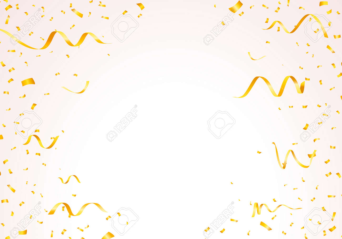 Set of Isolated Vector Party Editable Elements on Transparent or White Background - 159820082