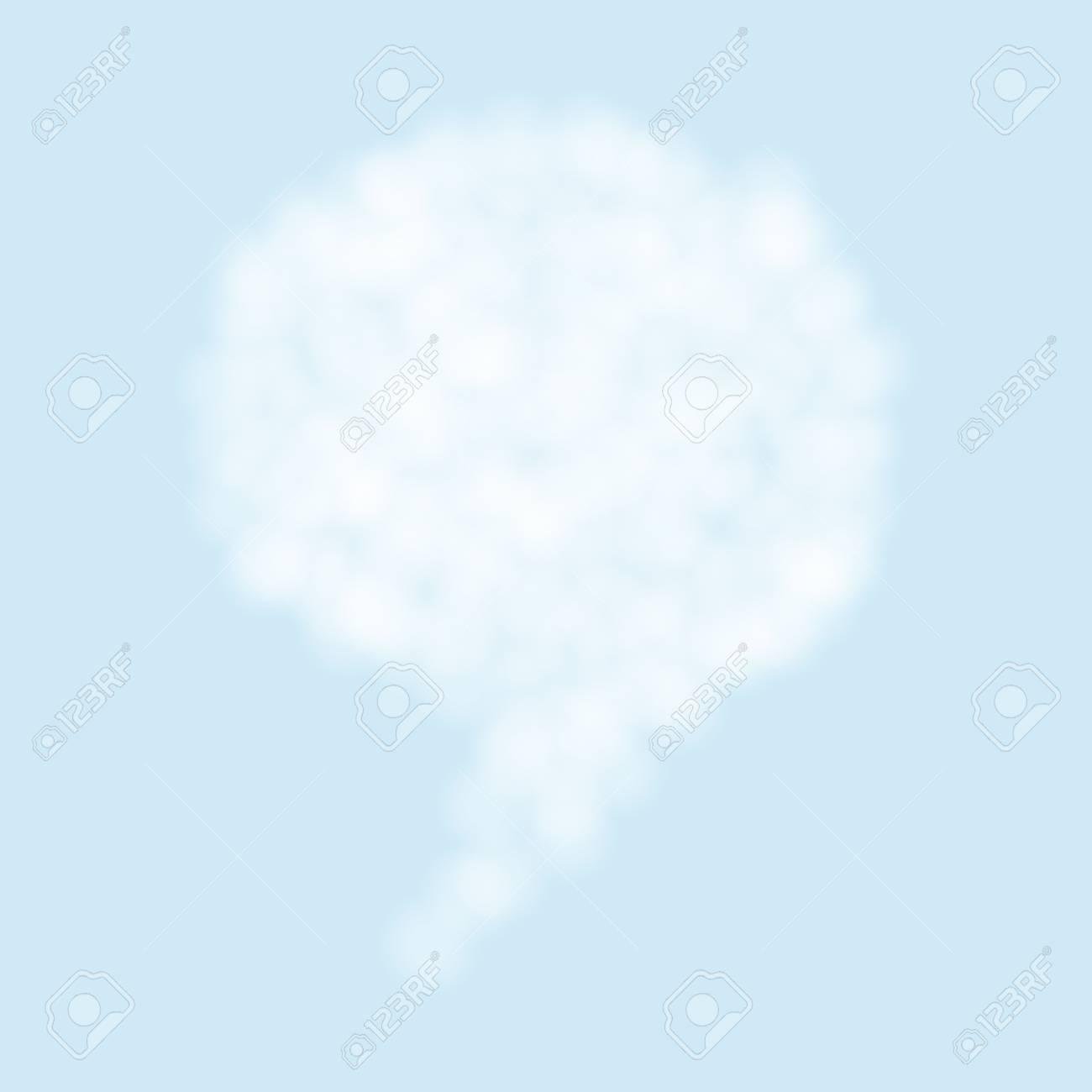 Vector cloud bubble speech Stock Vector - 12763424