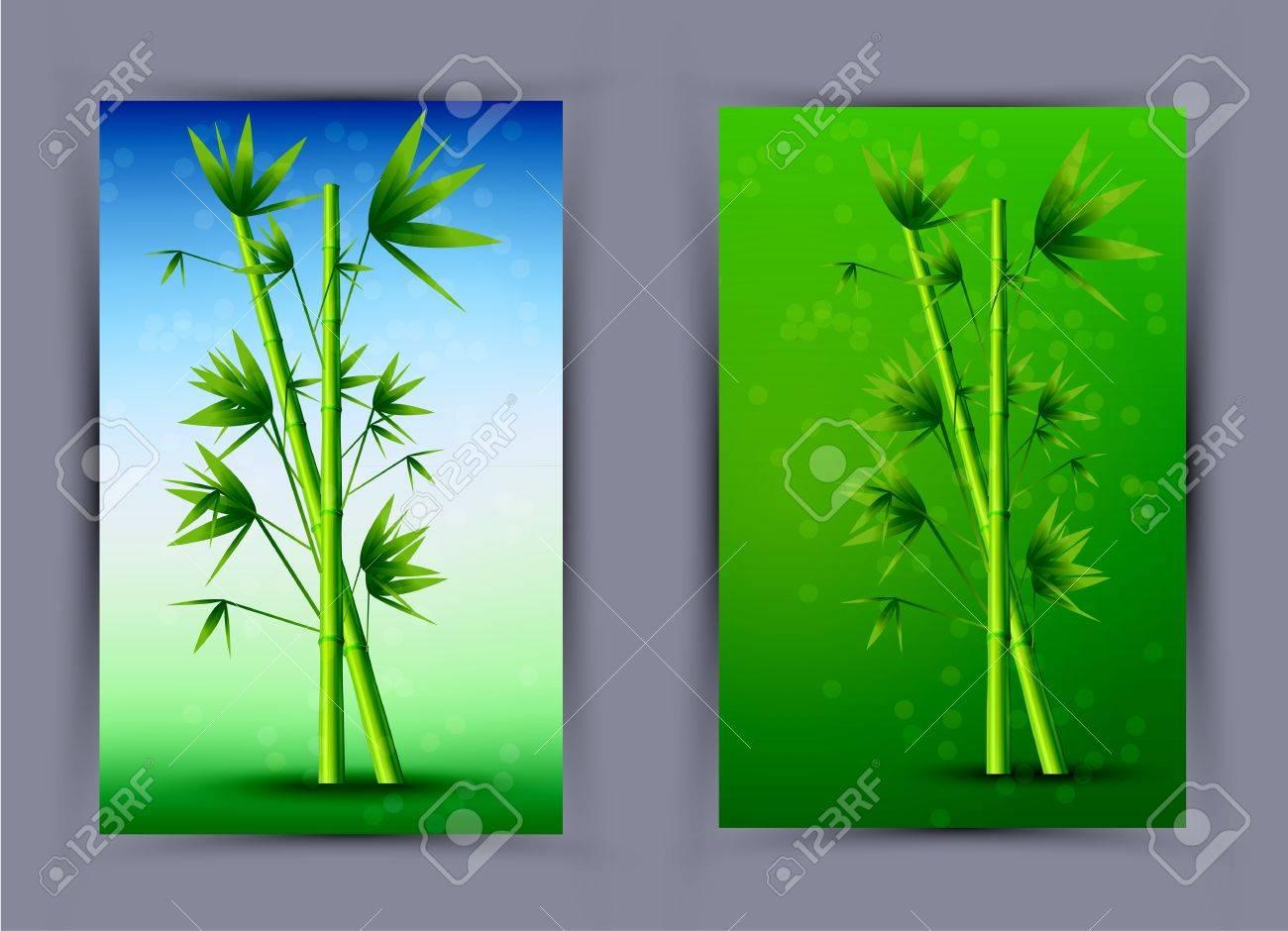 Vector creative bamboo poster. Eps10 Stock Vector - 13566067