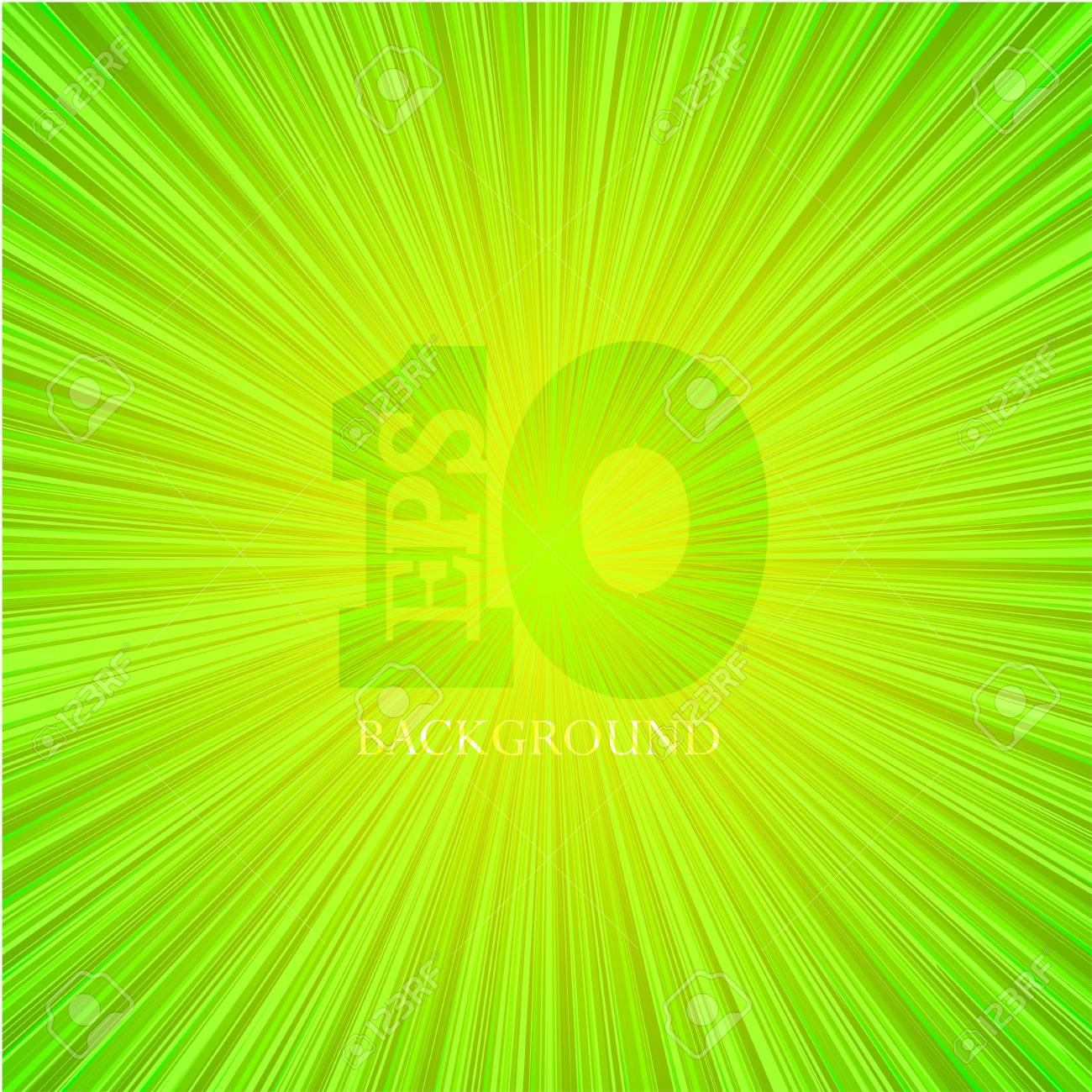 green abstract background. Stock Vector - 14017125