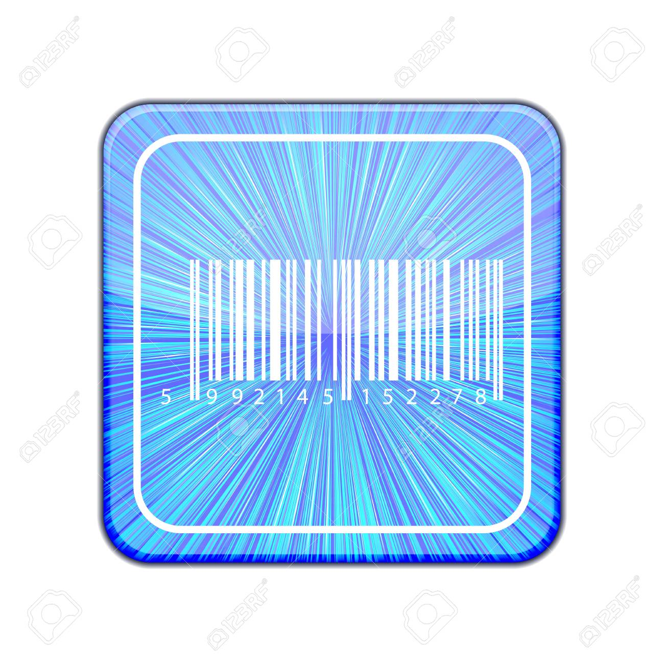 Vector version. Bar code icon. Stock Vector - 15436775