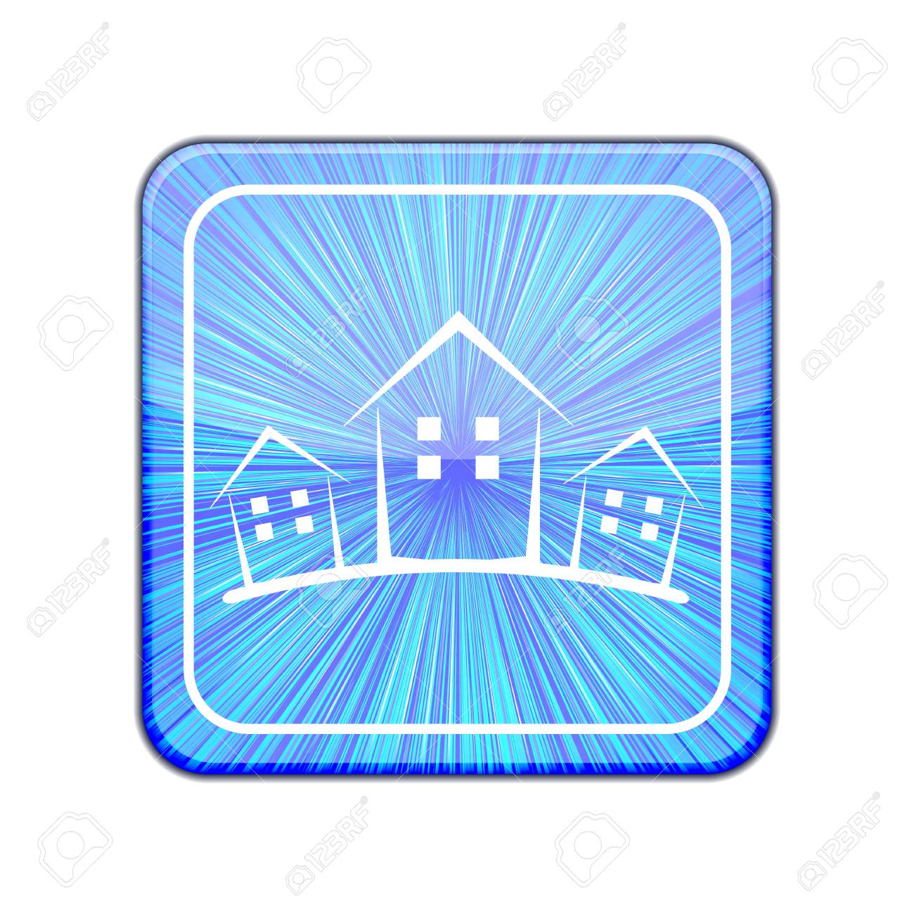 Vector version. Real estate icon. Stock Vector - 15436651