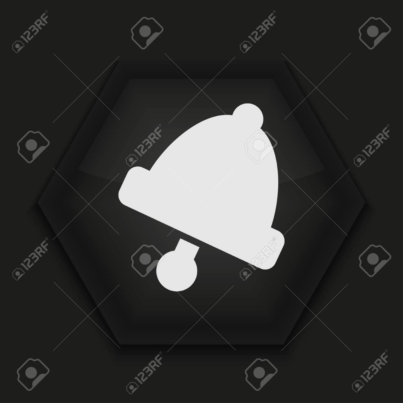 Vector creative icon on black background. Eps10 Stock Vector - 17273395