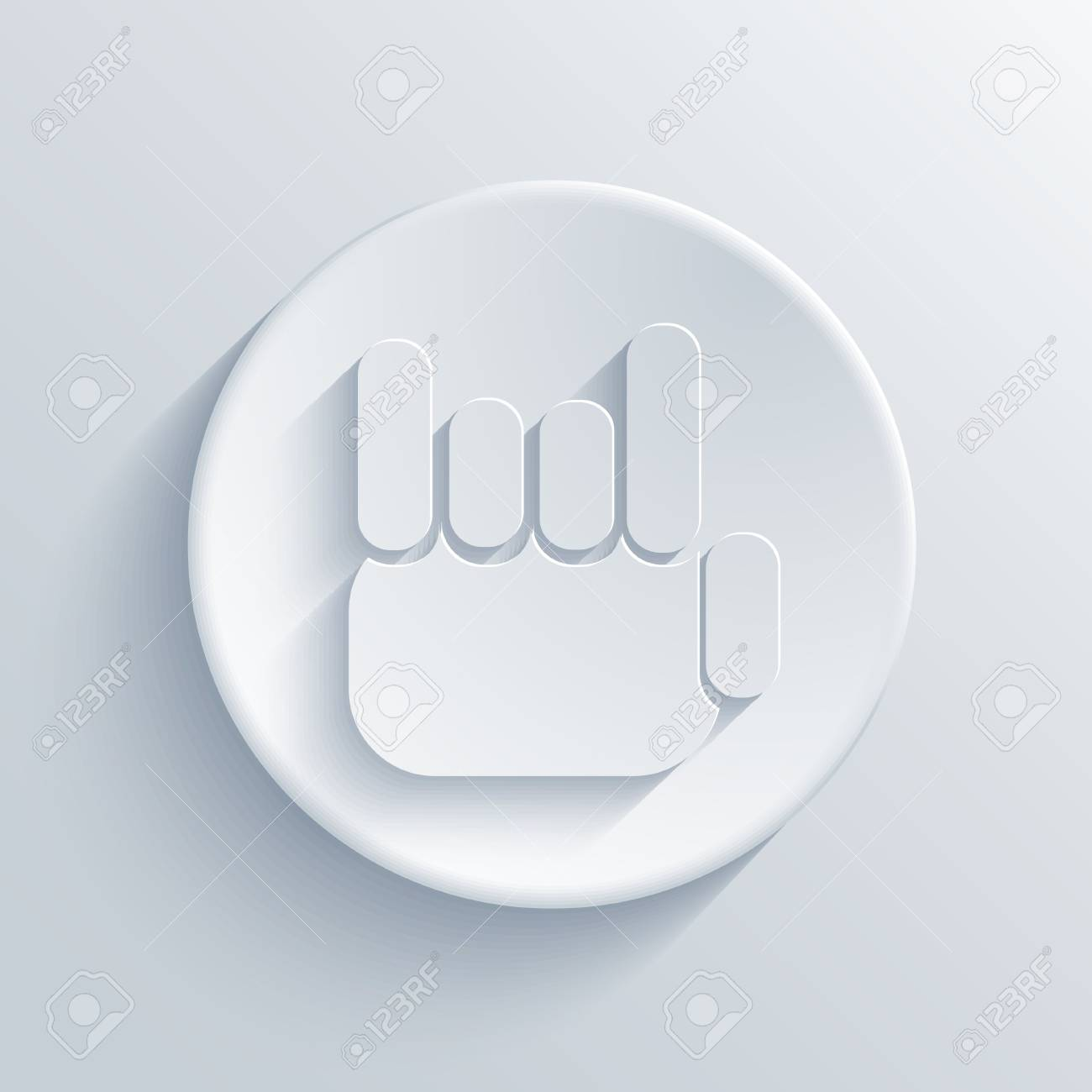 light circle icon. Stock Vector - 18666757