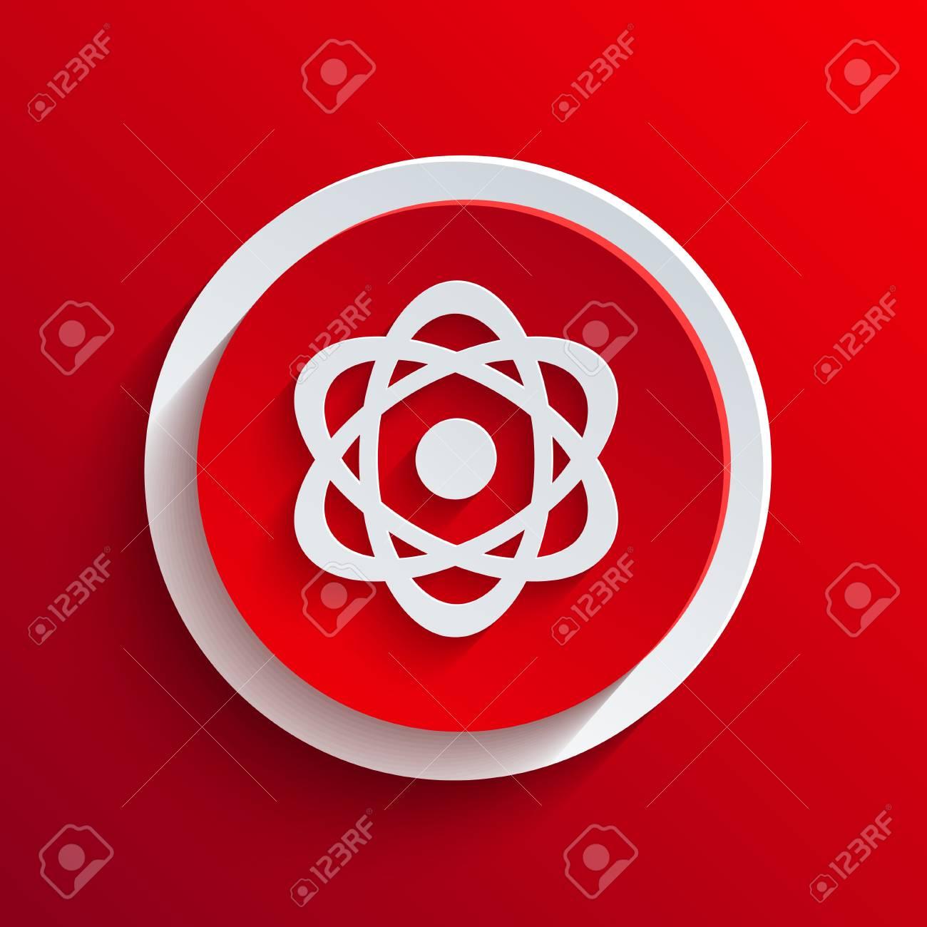Vector red circle icon. Stock Vector - 21377464