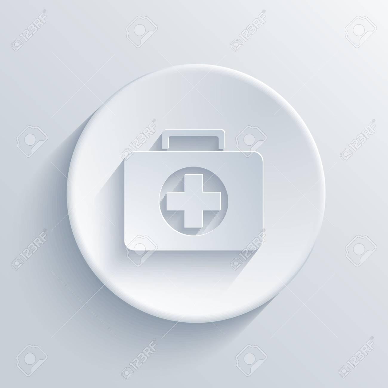 Vector light circle icon  Eps10 Stock Vector - 24366565