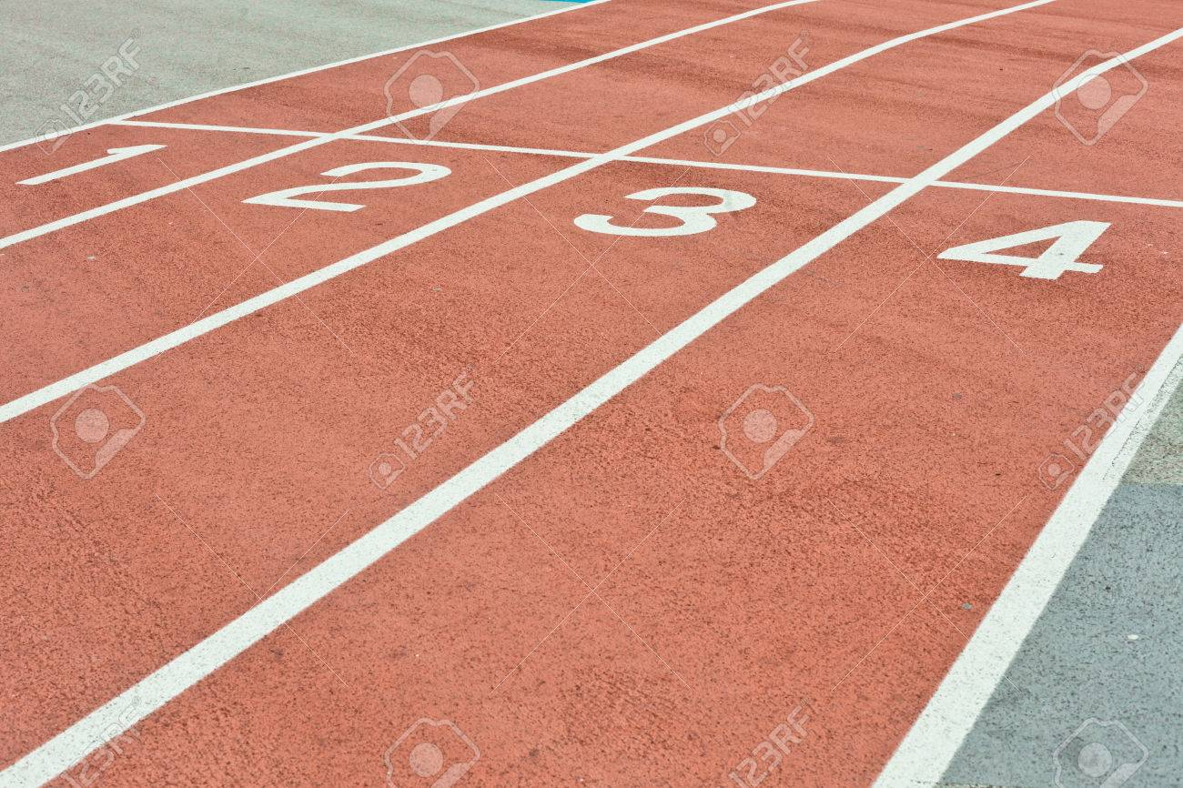 Lanes of a racing track as a background image Stock Photo - 22526385