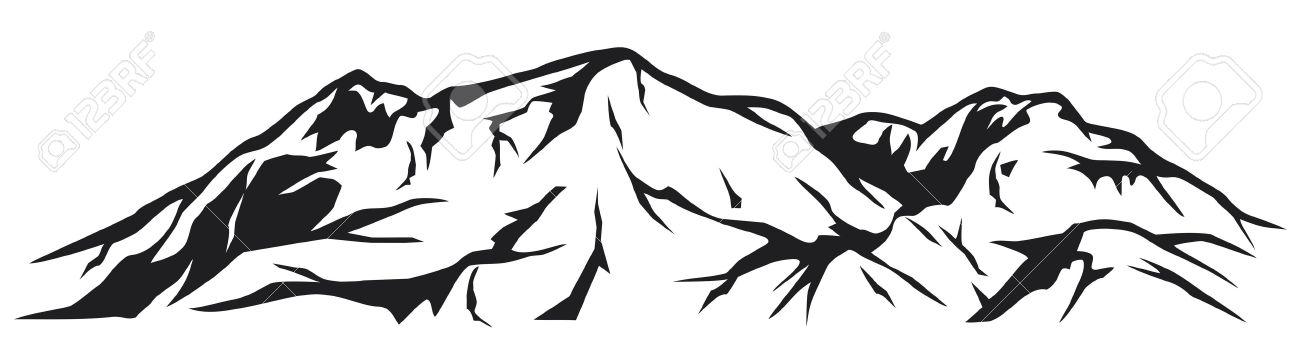 illustration of mountain landscape Stock Vector - 14761235