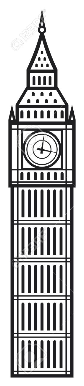 big ben royalty free cliparts vectors and stock illustration rh 123rf com big ben vector free download big ben vector free