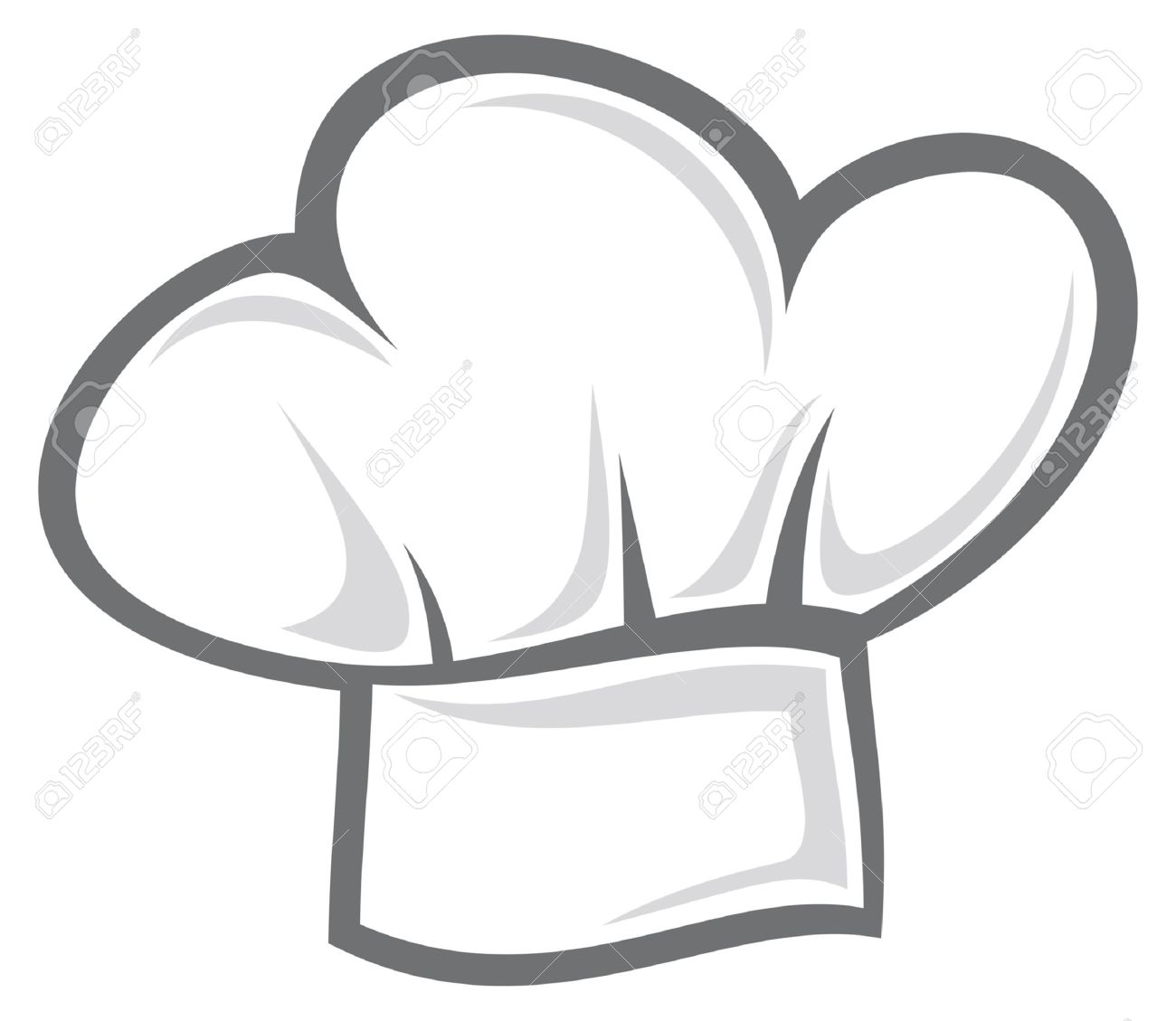 3ffa7c1c6cd2d White Chef Hat Royalty Free Cliparts, Vectors, And Stock ...