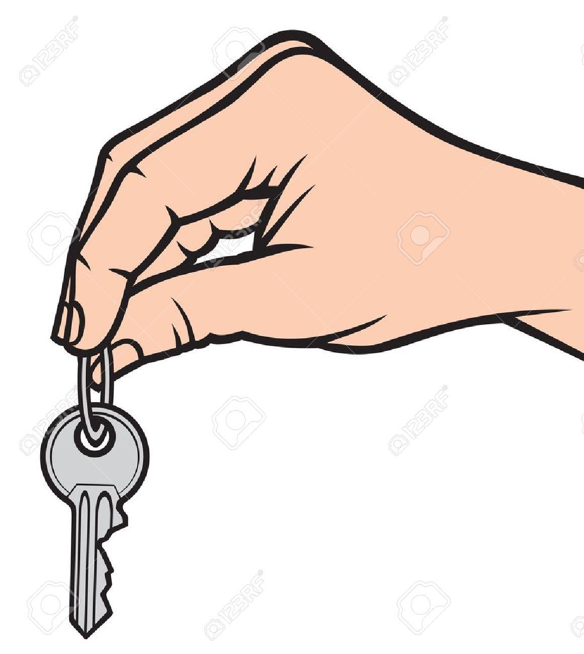 Image result for cartoon hand holding keys