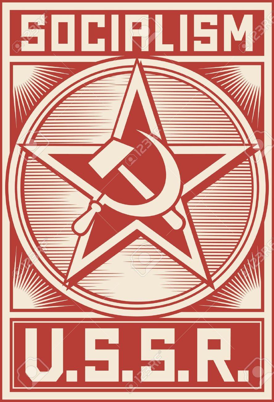 ussr poster soviet poster socialism poster soviet star royalty