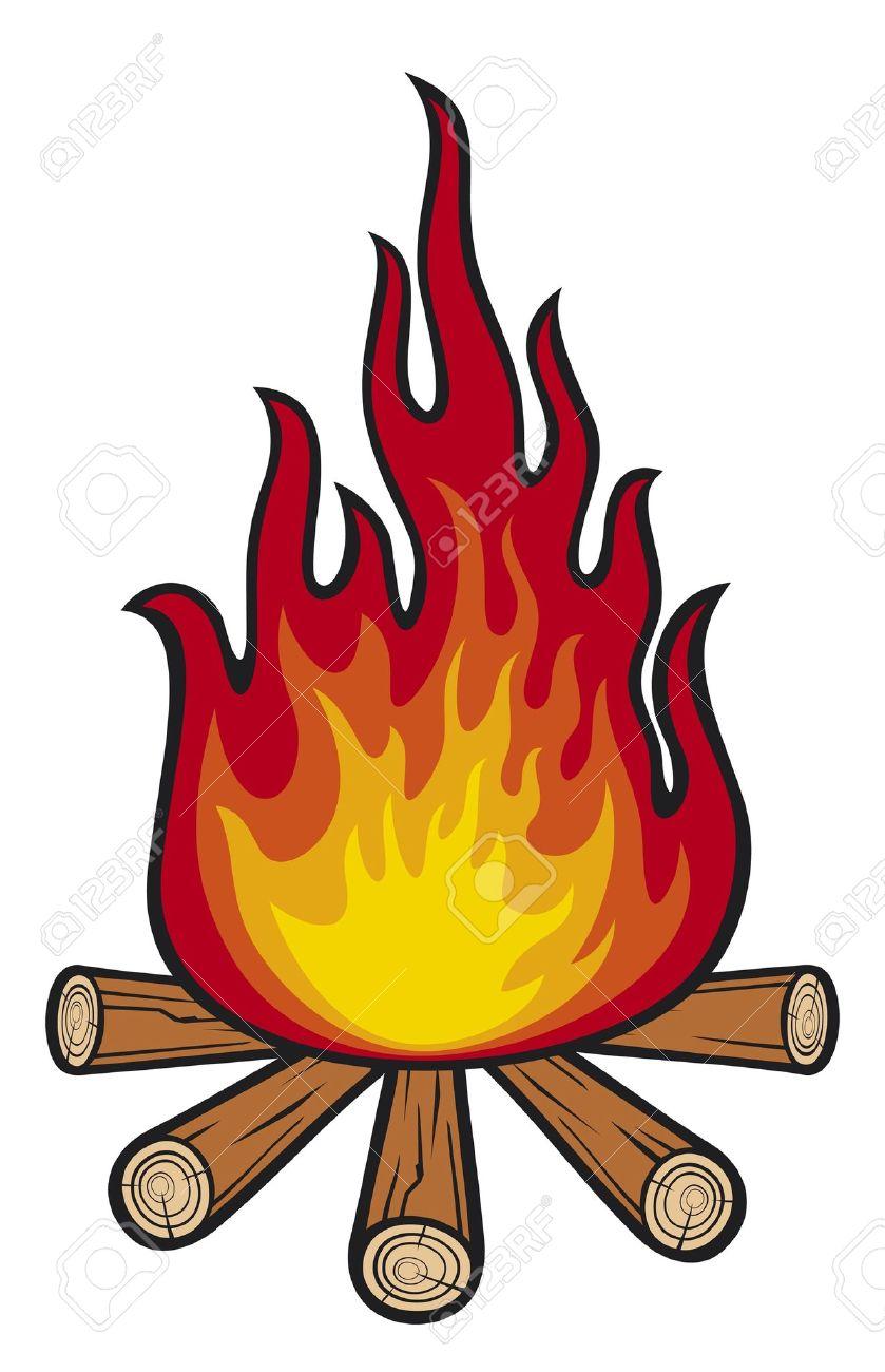 campfire Stock Vector - 14836344