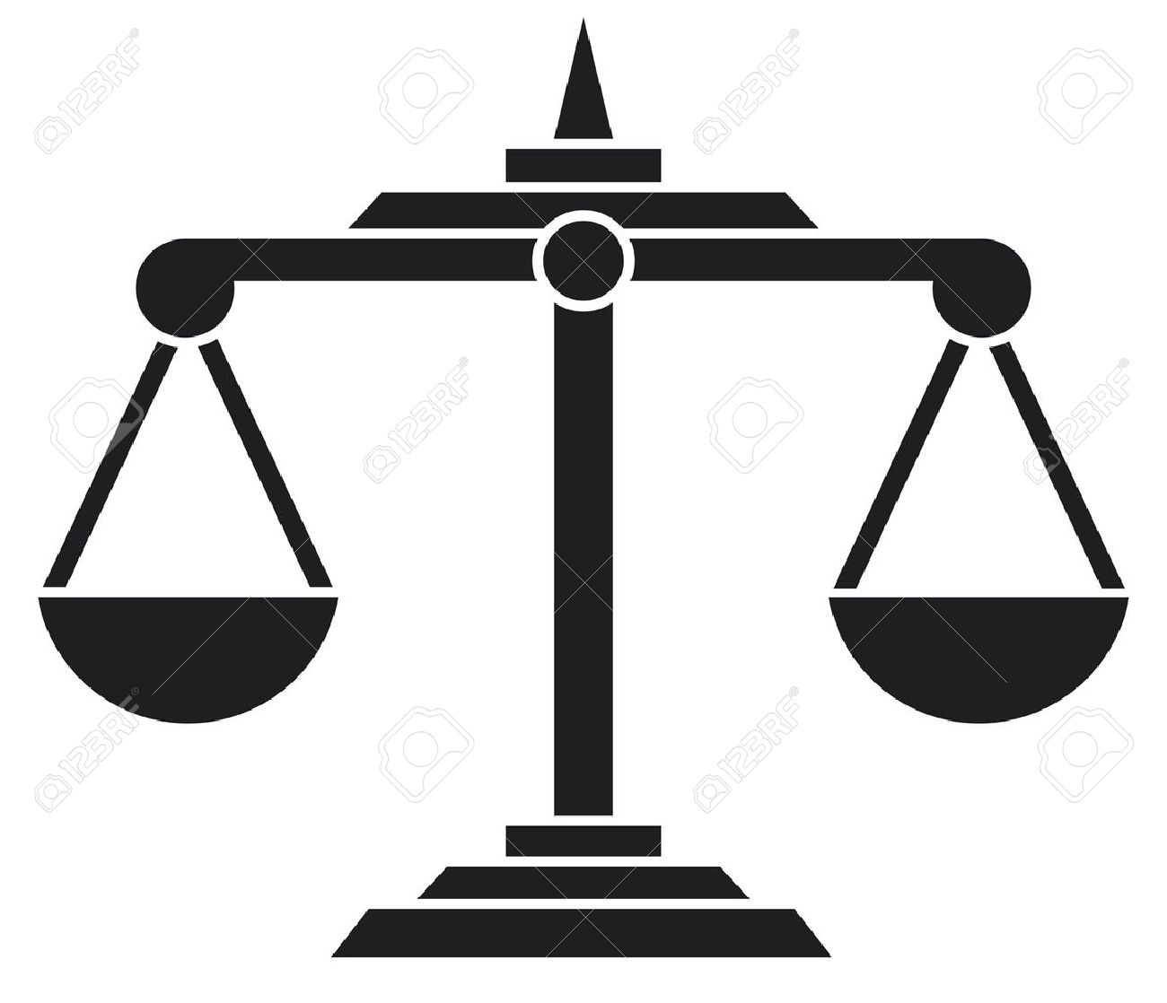 Scales Of Justice Symbol Royalty Free Cliparts Vectors And Stock