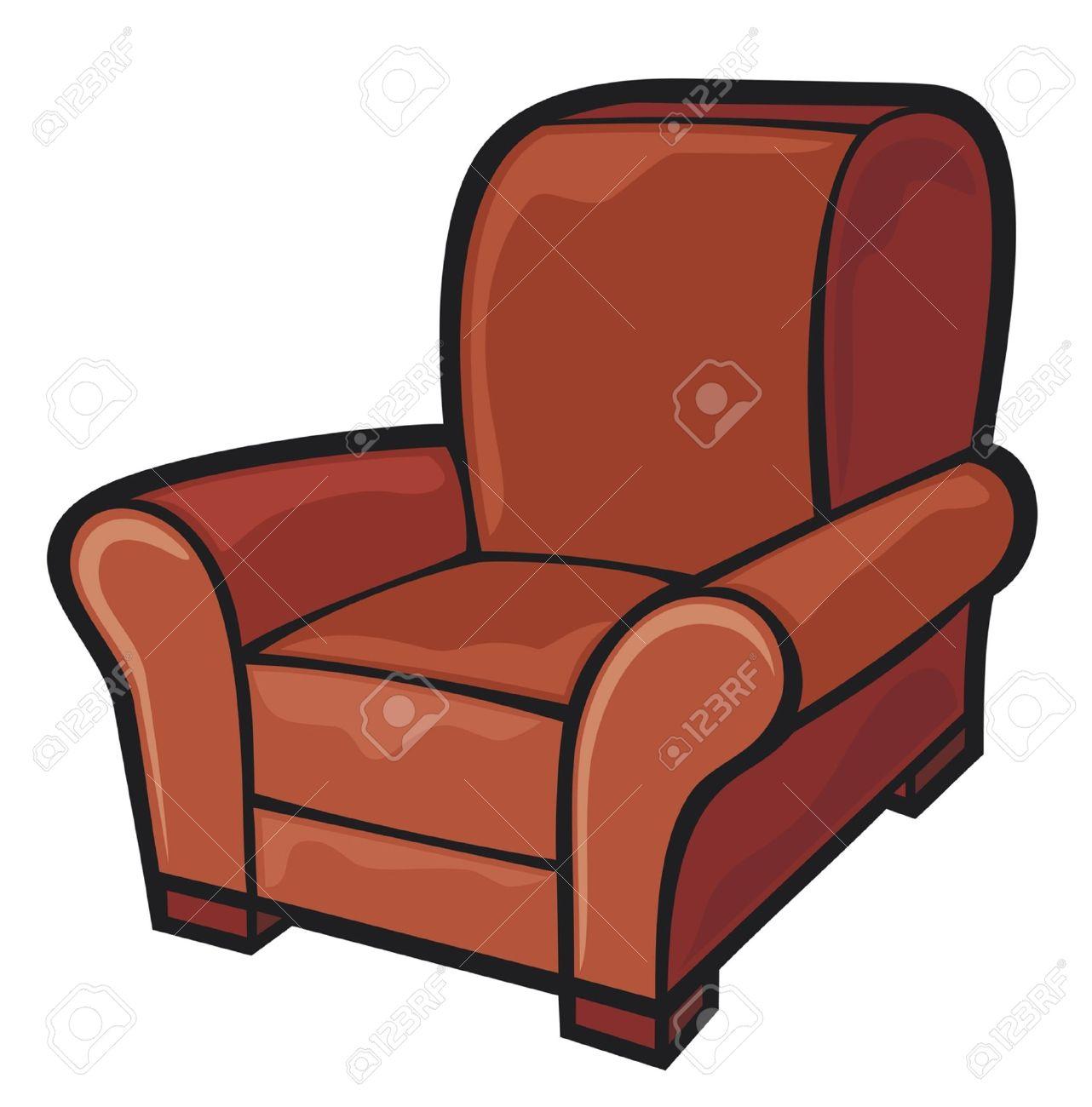 Armchair Leather Tub Chair Stock Vector   14973284