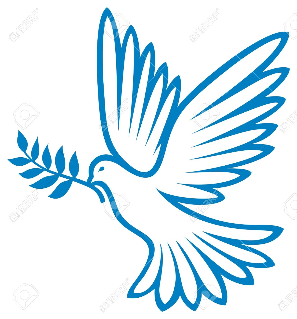 Dove Of Peace Peace Dove Symbol Of Peace Royalty Fri Clipart