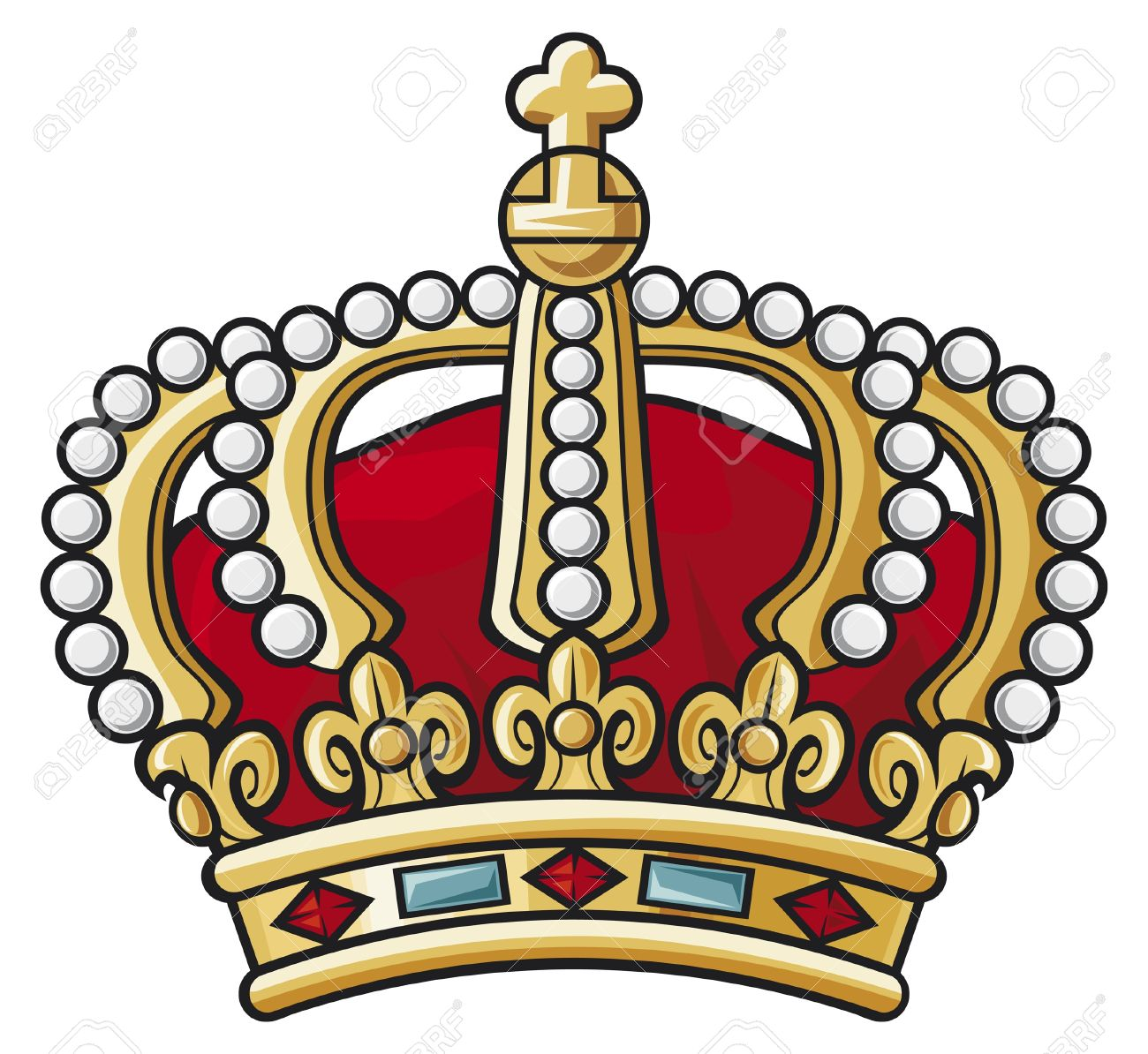 heraldic crown Stock Vector - 14973522