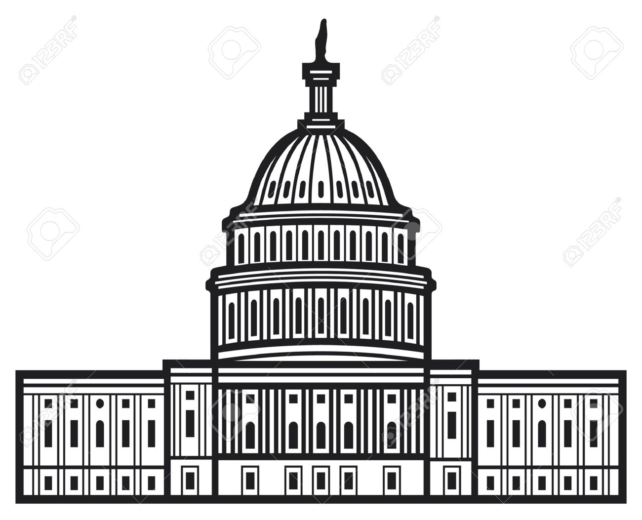 united states capitol capitol hill u s capitol dome royalty free rh 123rf com us capitol building vector capitol records building vector