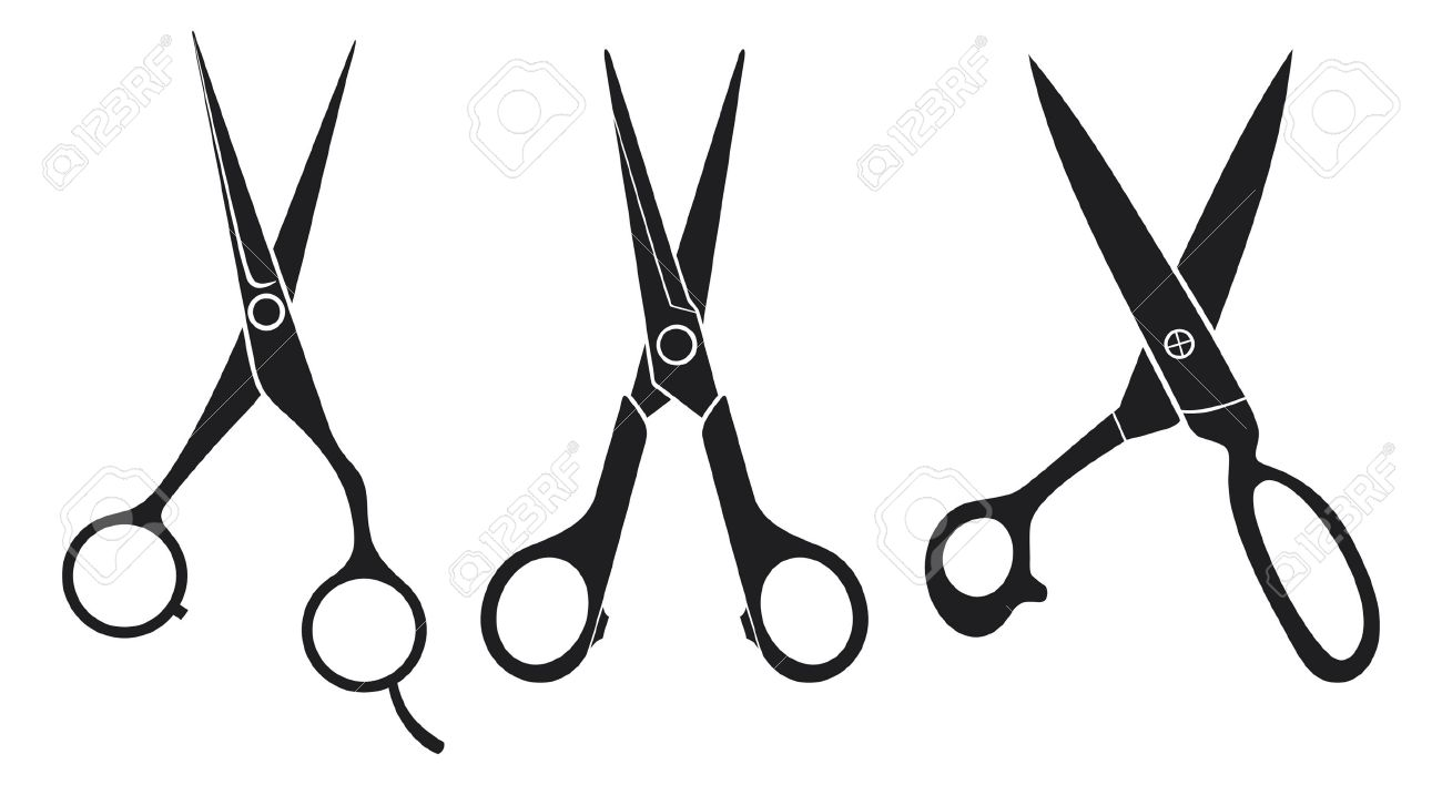 Scissors Set Scissors Collection Royalty Free Cliparts, Vectors, And ...