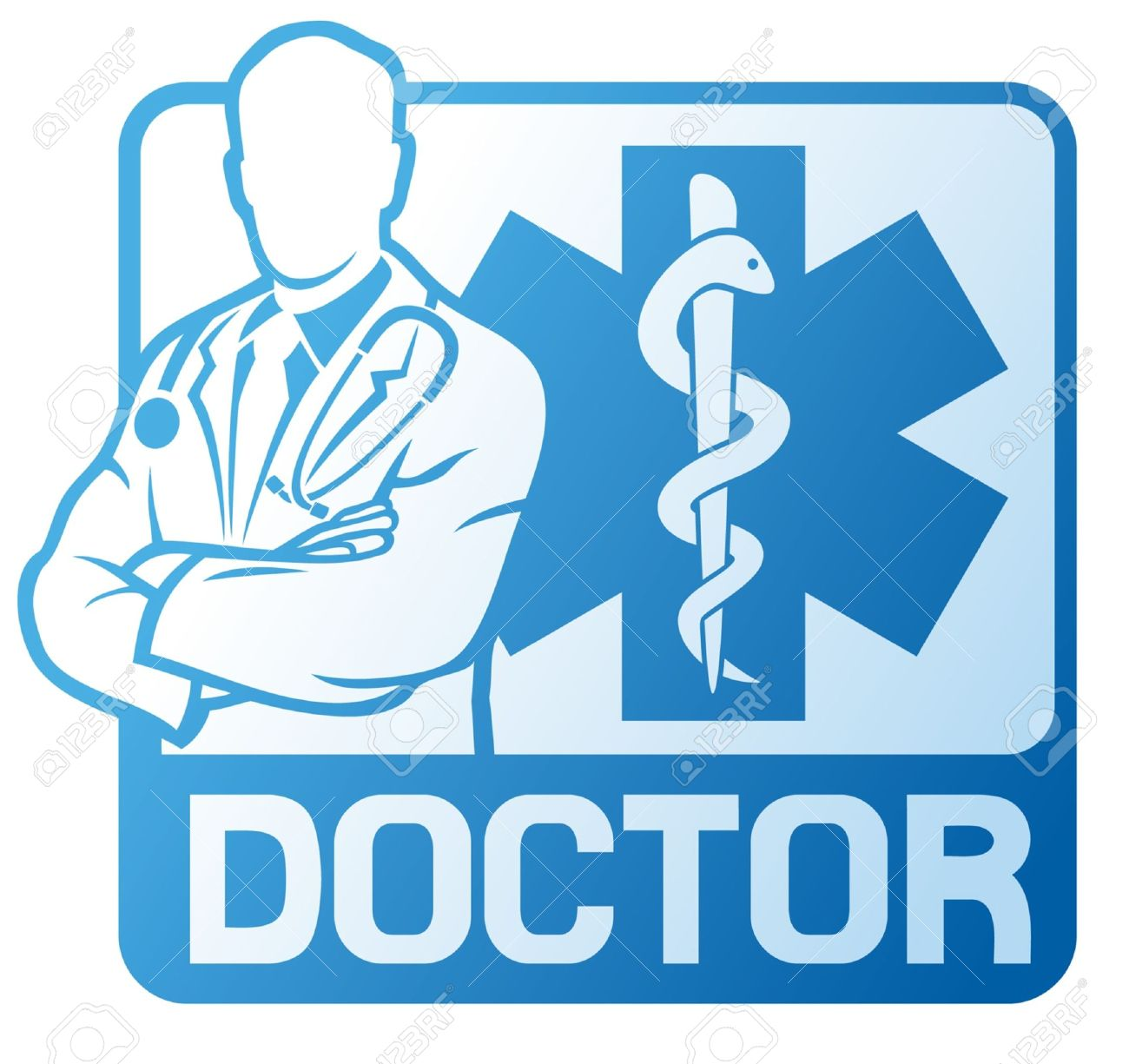 Medical doctor symbol medical symbol caduceus snake with stick medical doctor symbol medical symbol caduceus snake with stick medicine emblem blue medical sign buycottarizona Image collections