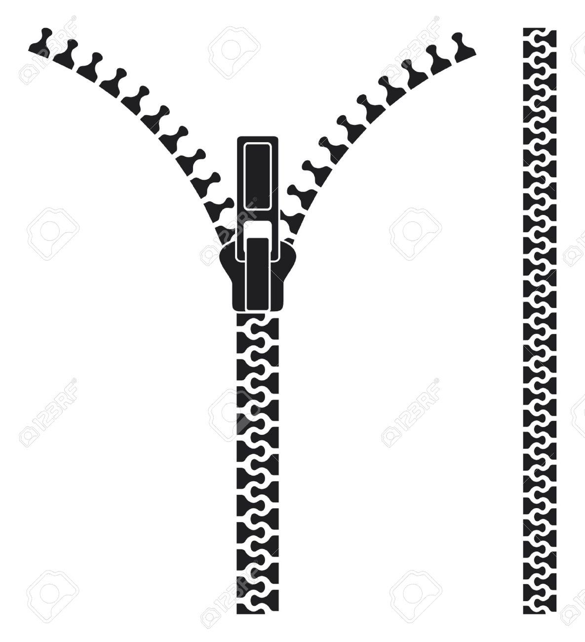 Open zipper - 15099261