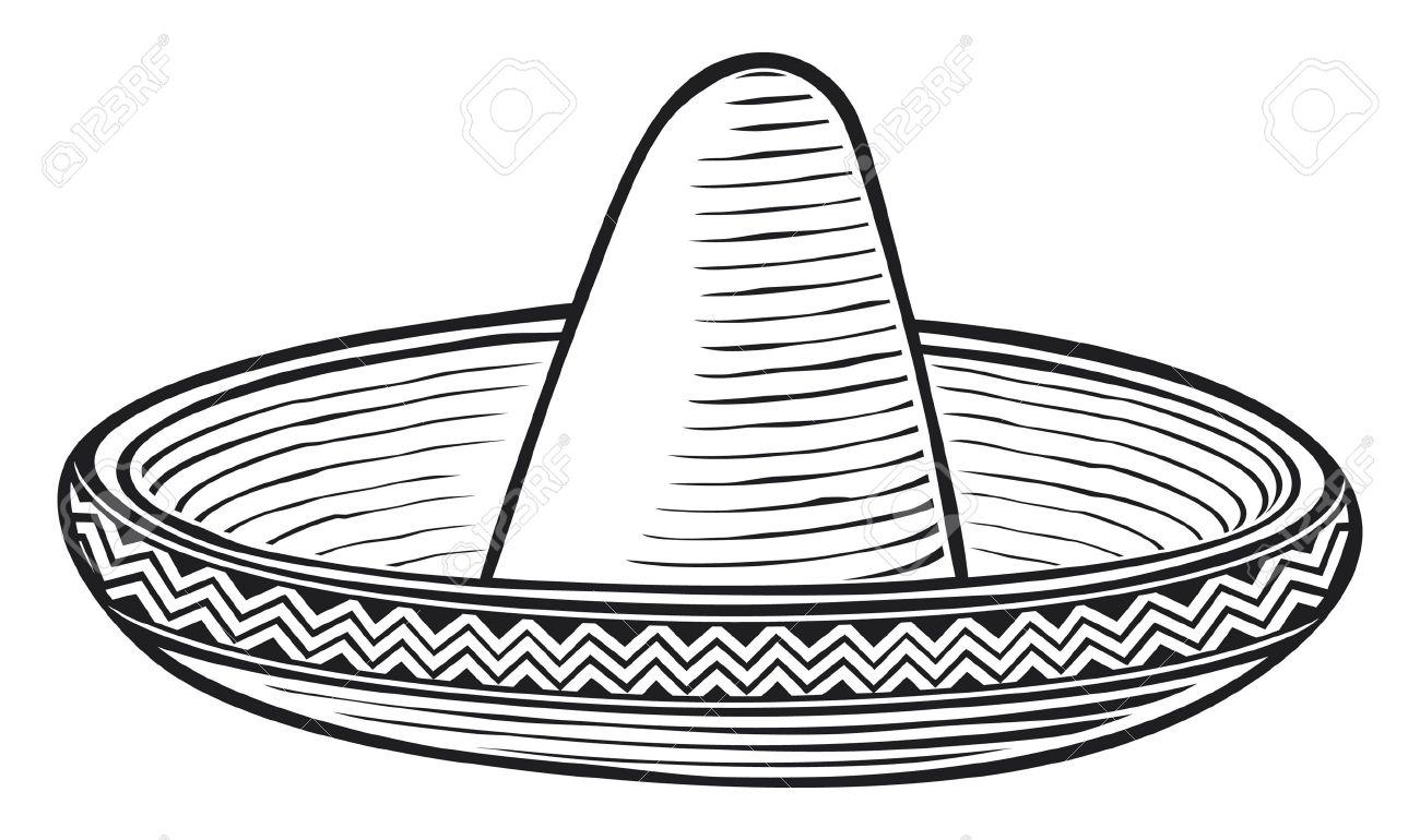 sombrero  mexican hat Stock Vector - 15099258