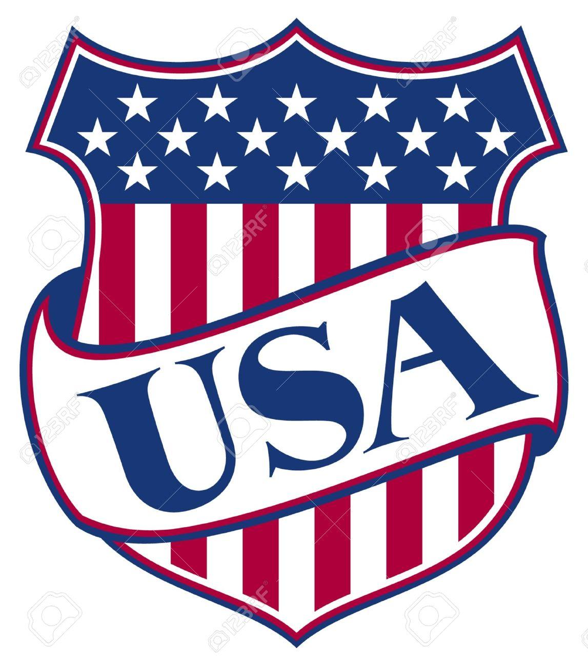 United states of america shield usa american patriotic symbol united states of america shield usa american patriotic symbol stock vector 15099211 buycottarizona Choice Image