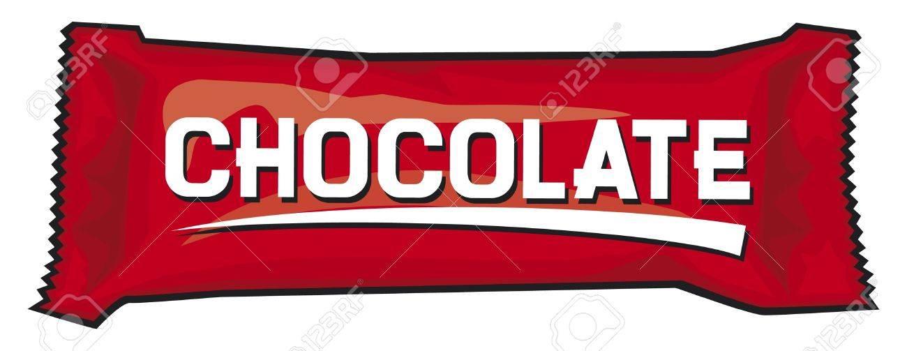 チョコレートやお菓子のパッケージのイラスト素材ベクタ Image 15099250