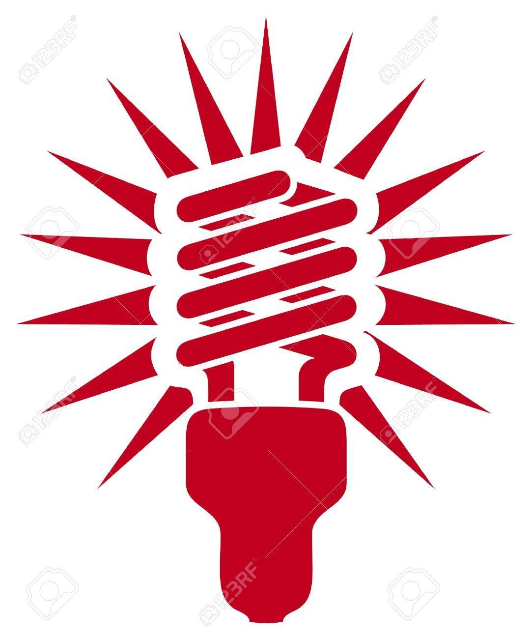 energy saving light bulb Stock Vector - 15099186