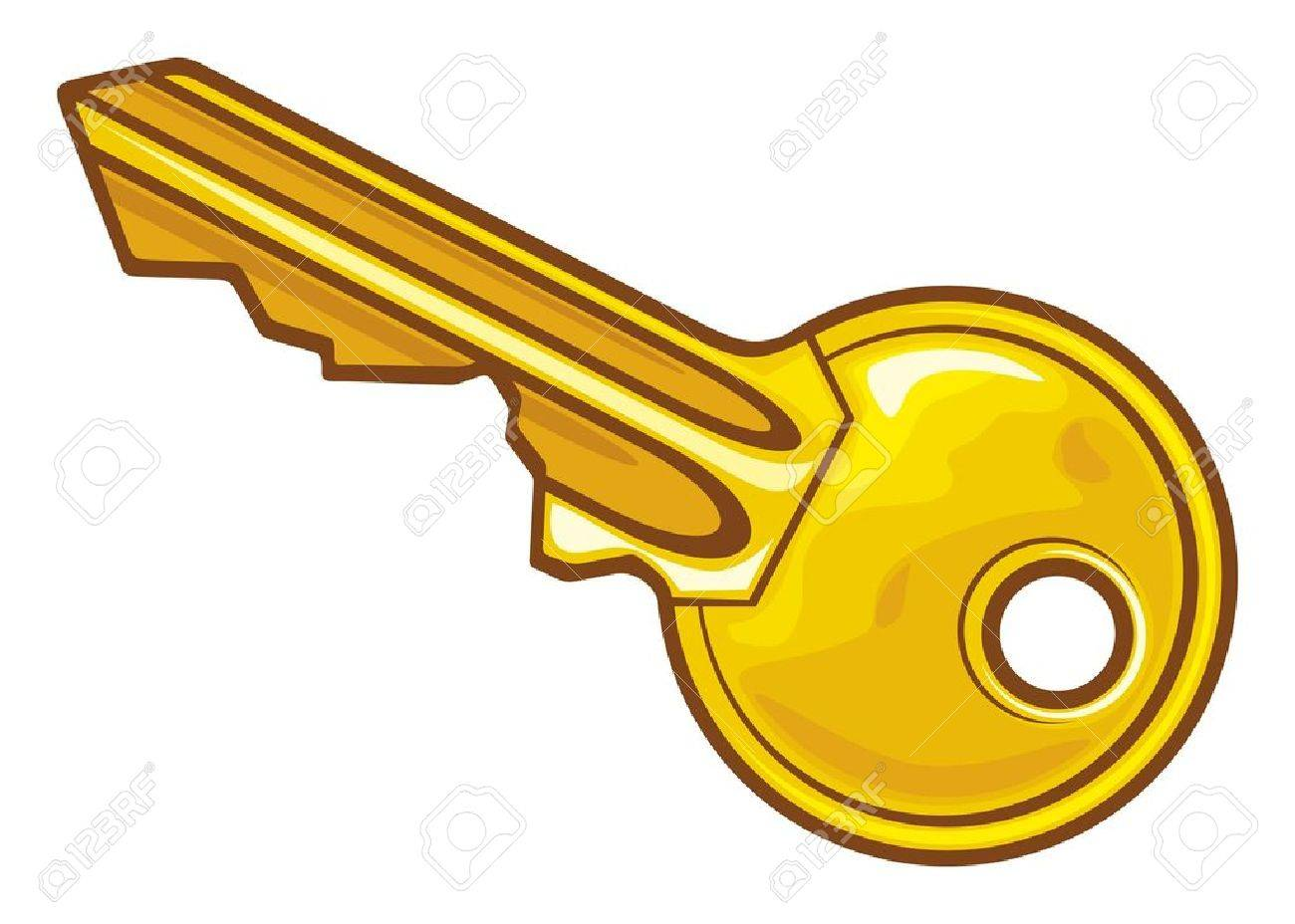 Key illustration Stock Vector - 15099215