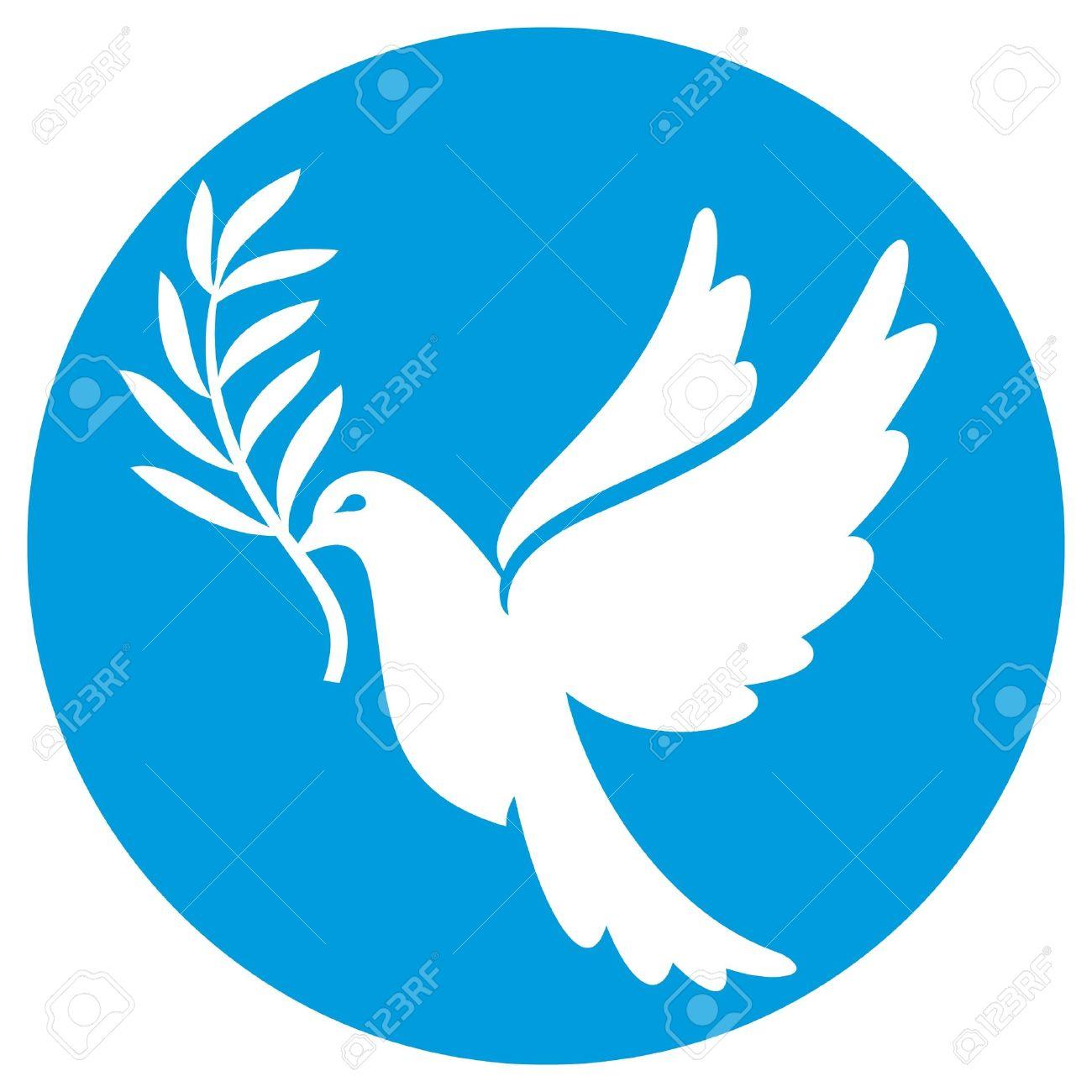 Fabuleux Colombe De La Paix (colombe De Paix, Symbole De Paix) Clip Art  BY69