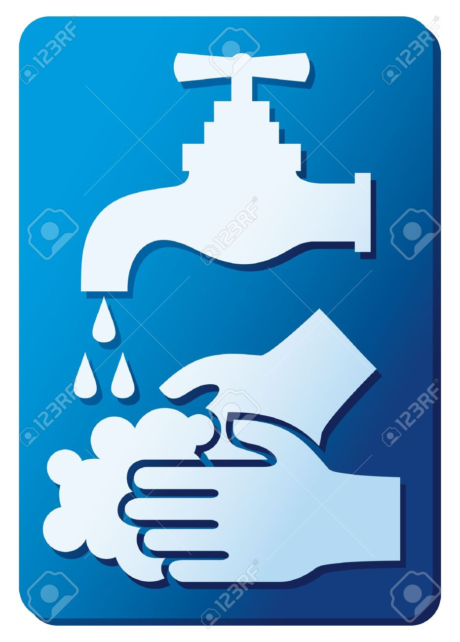 please wash your hands sign  please wash your hands icon, please wash your hands symbol, please wash your hands label Stock Vector - 15867534