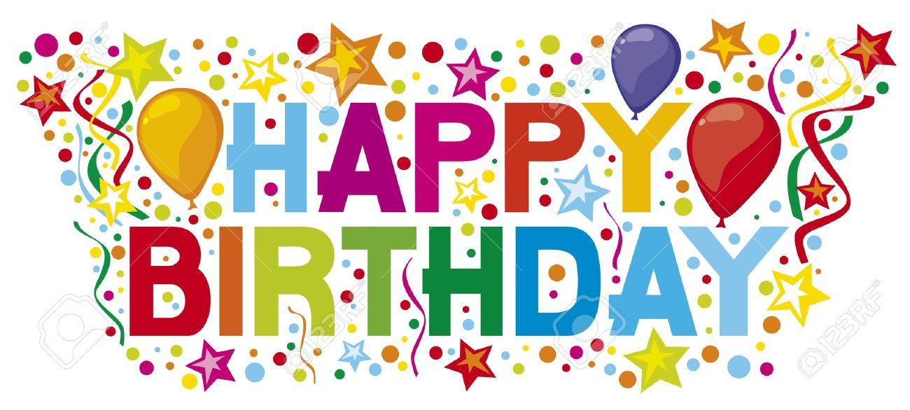 Happy Birthday Happy Birthday Party, Happy Birthday Design Royalty ...