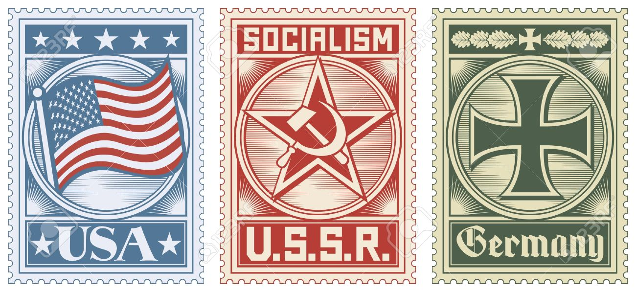 postage stamps collection usa stamp ussr stamp germany stamp