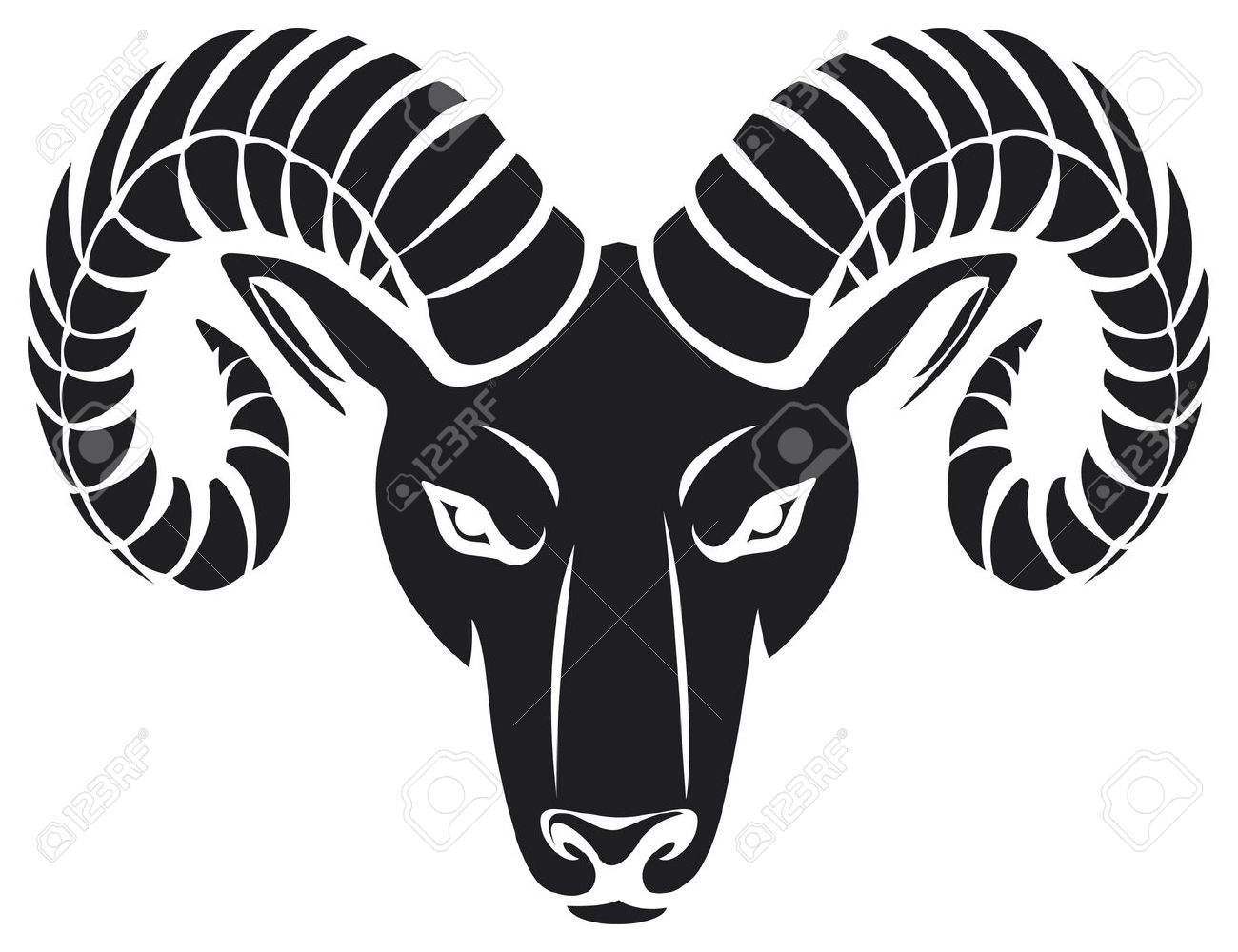 head of the ram (ram head) - 15970757