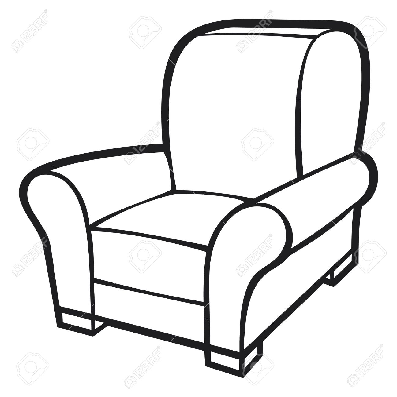 Comfy Chair Drawing Wildwoodstacom I