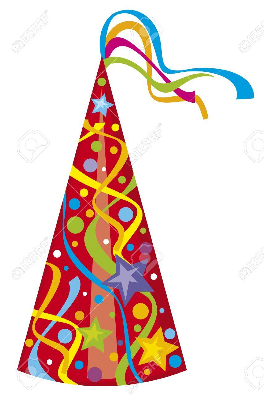 Sombrero De Fiesta De Cumpleaños Sombrero Ilustraciones Vectoriales ...