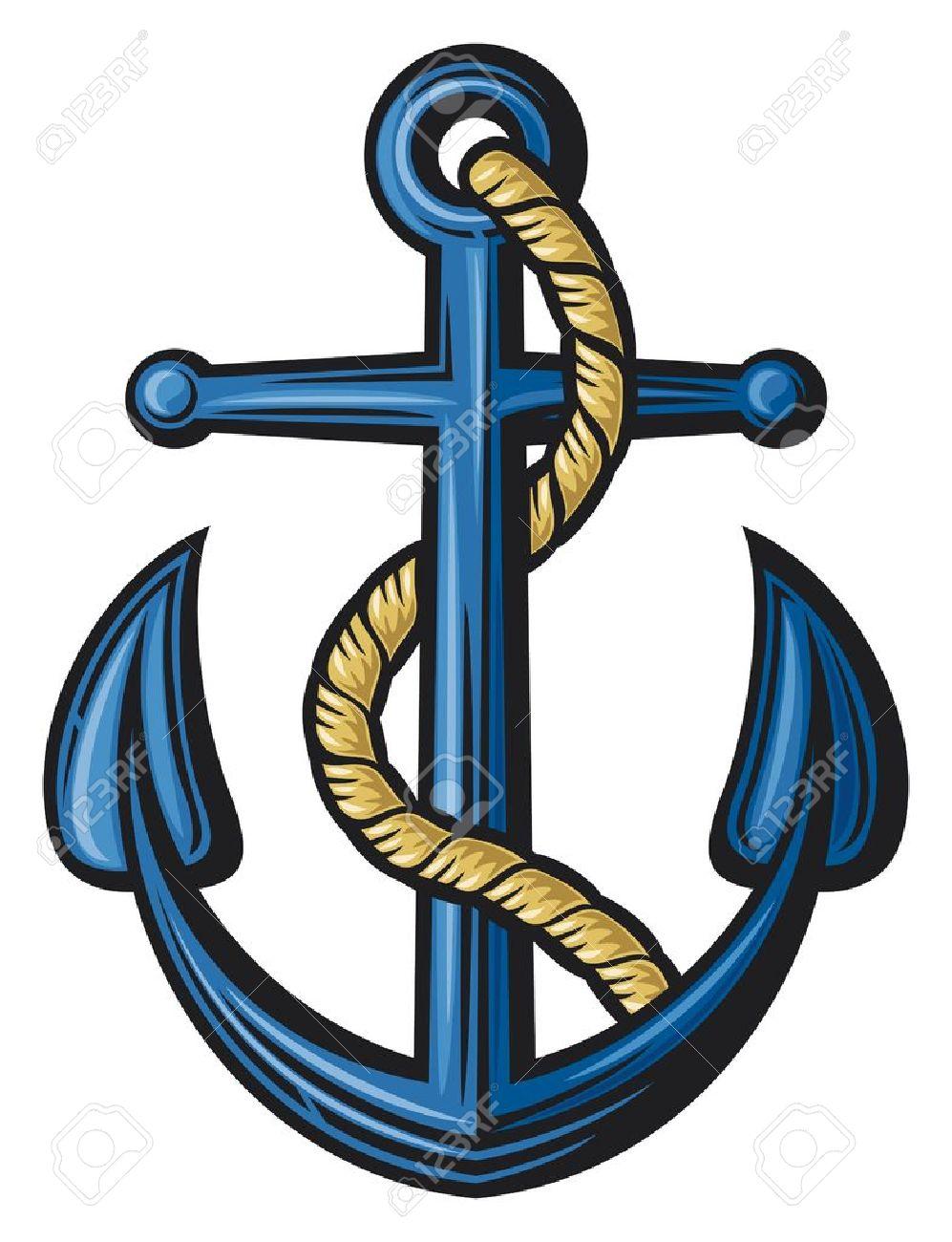 Color art anchorage - Anchorage Anchor Illustration Illustration