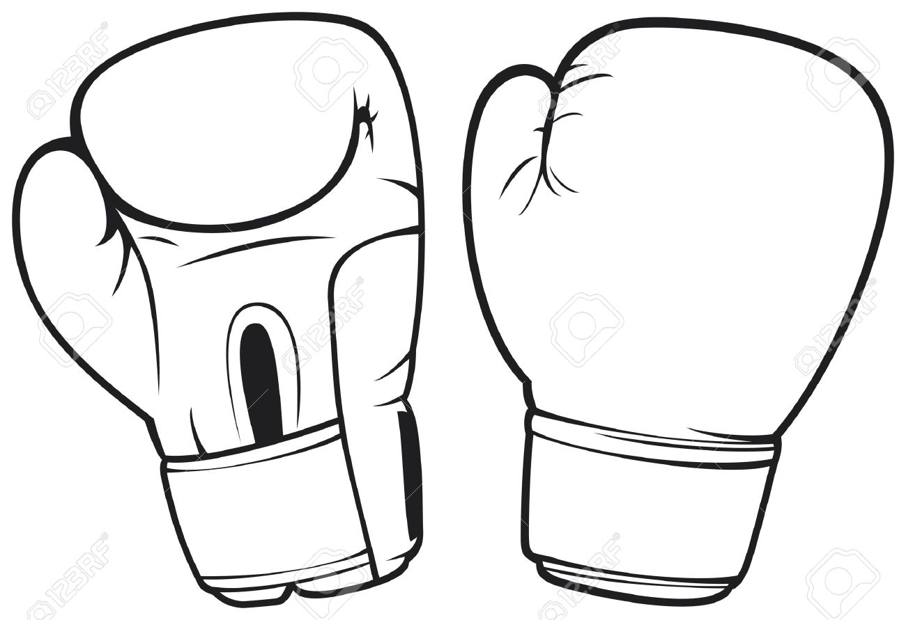 boxing gloves royalty free cliparts vectors and stock illustration rh 123rf com boxing glove vector image boxing glove vector free download