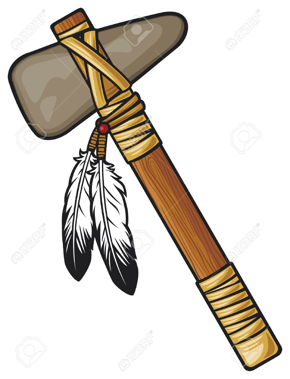 native american tomahawk royalty free cliparts vectors and stock rh 123rf com Seminole Tomahawk tomahawk clipart free