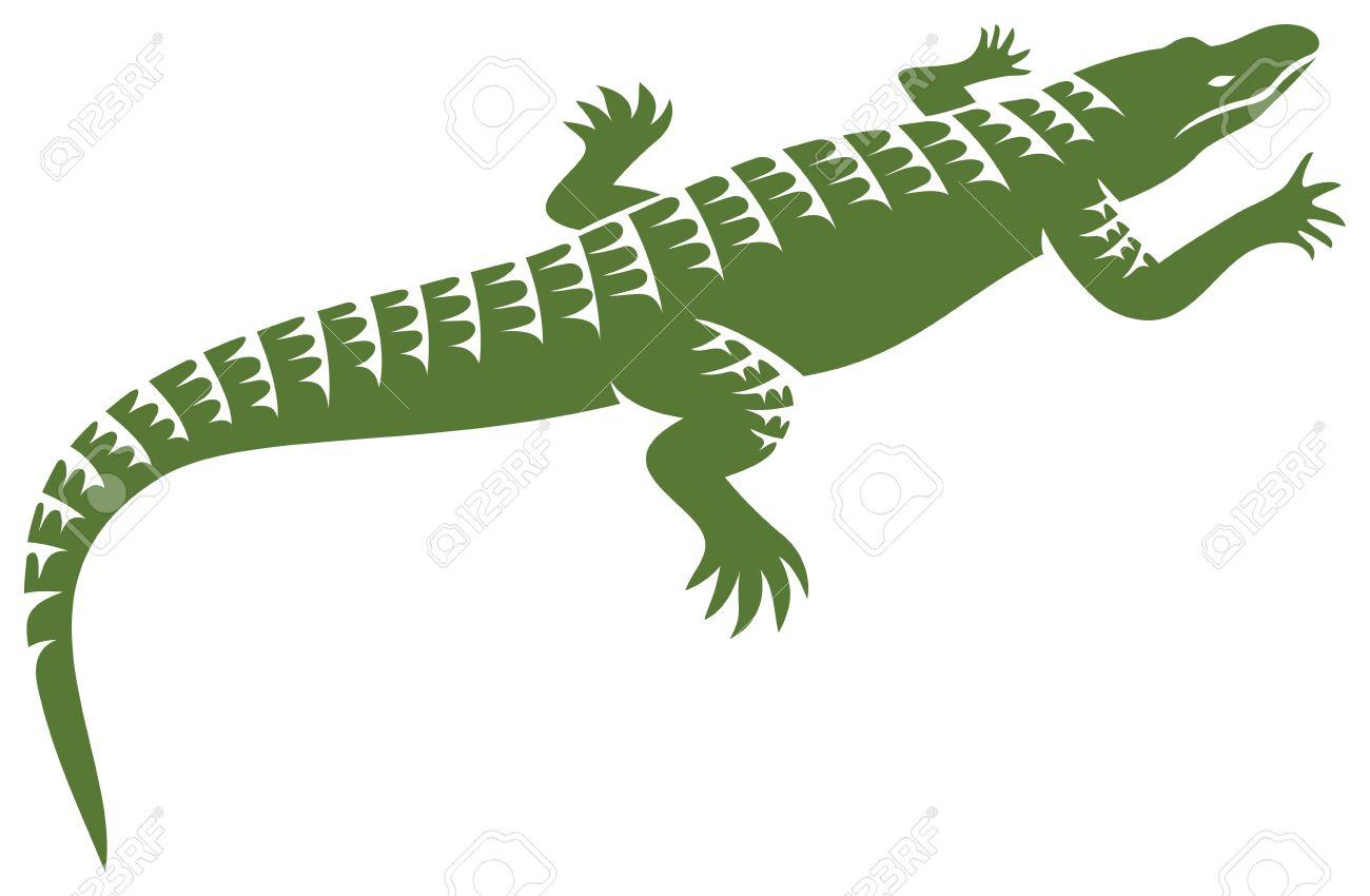 crocodile design  alligator symbol, crocodile icon Stock Vector - 18661600