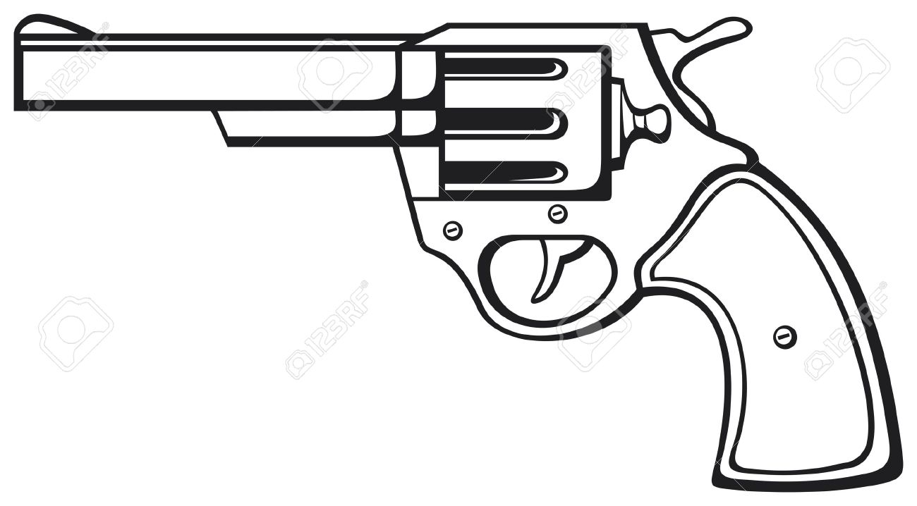 handgun pistol vector pistol gun old revolver royalty free cliparts vectors and stock illustration image 18661313 handgun pistol vector pistol gun old revolver