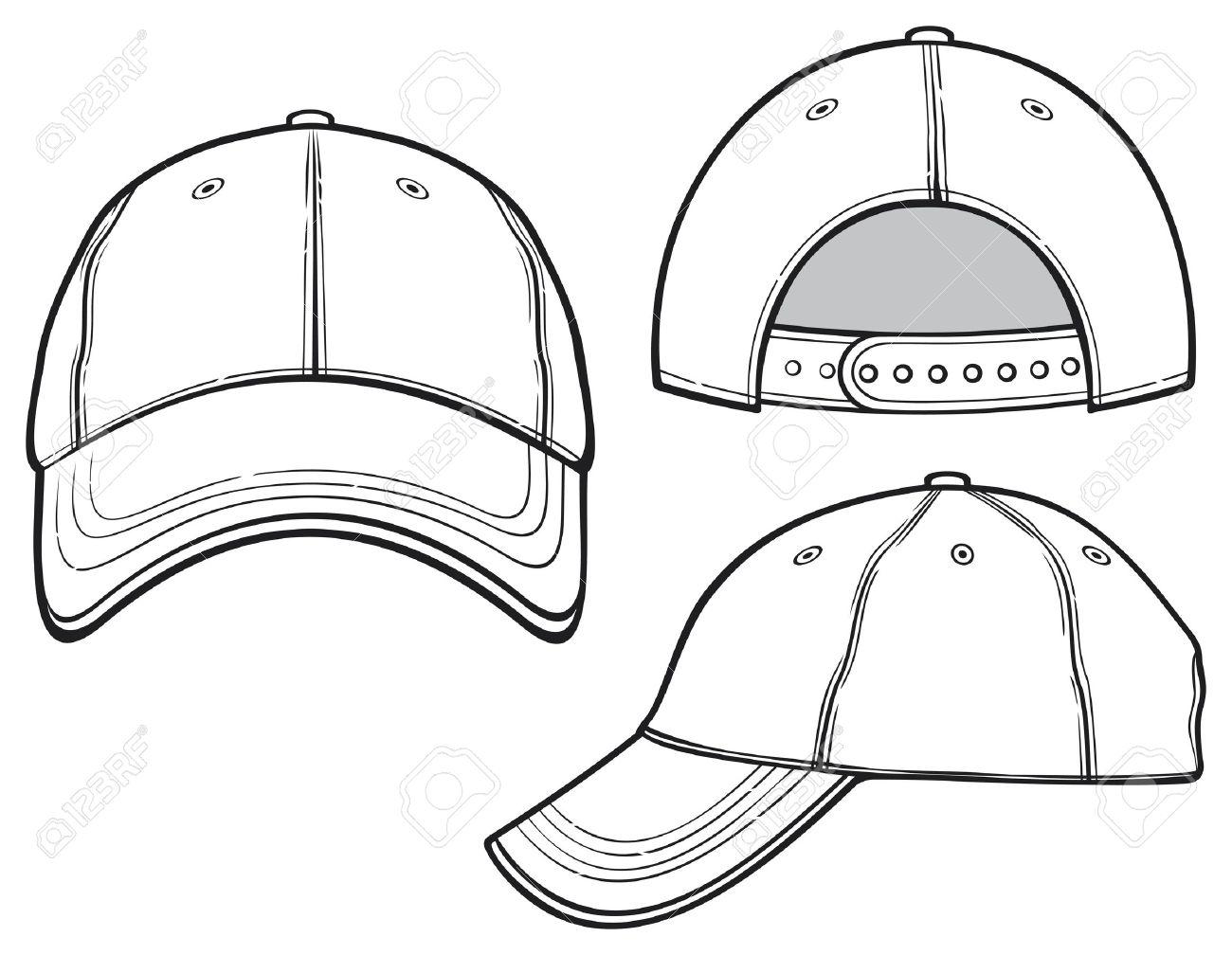 dcd0fa0114a baseball cap Stock Vector - 19189257