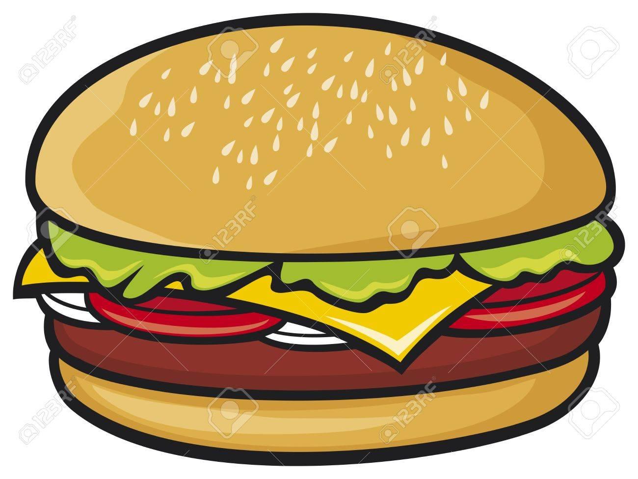 hamburger Stock Vector - 19189249