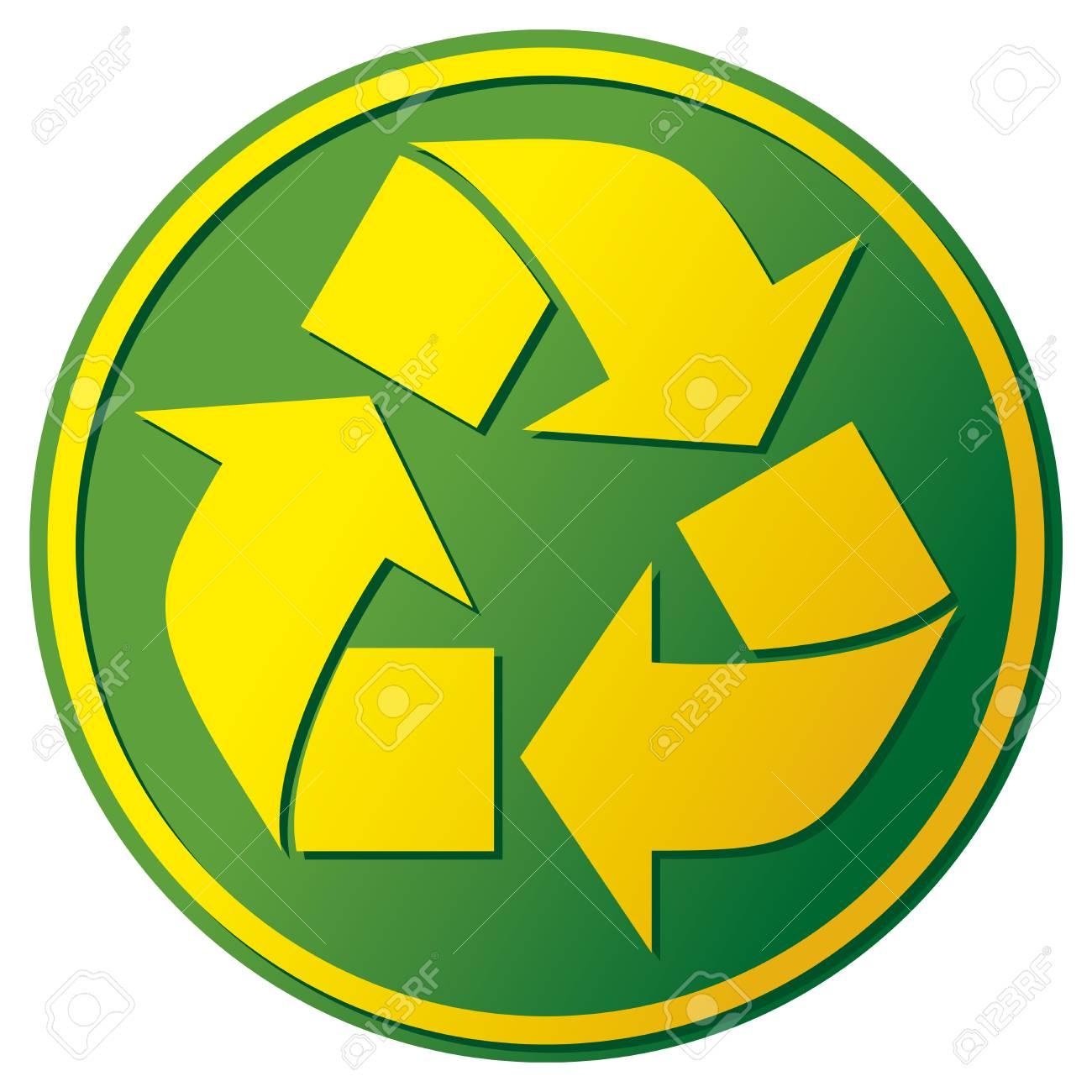 recycle symbol Stock Vector - 19317084
