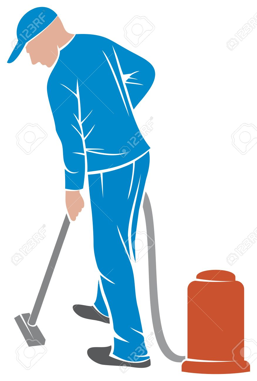 Vacuum cleaner clipart vacuum cleaner clip art - Professional Carpet Steam Man And A Carpet Cleaning Machine Vacuum Cleaner Worker Cleaner Vacuuming
