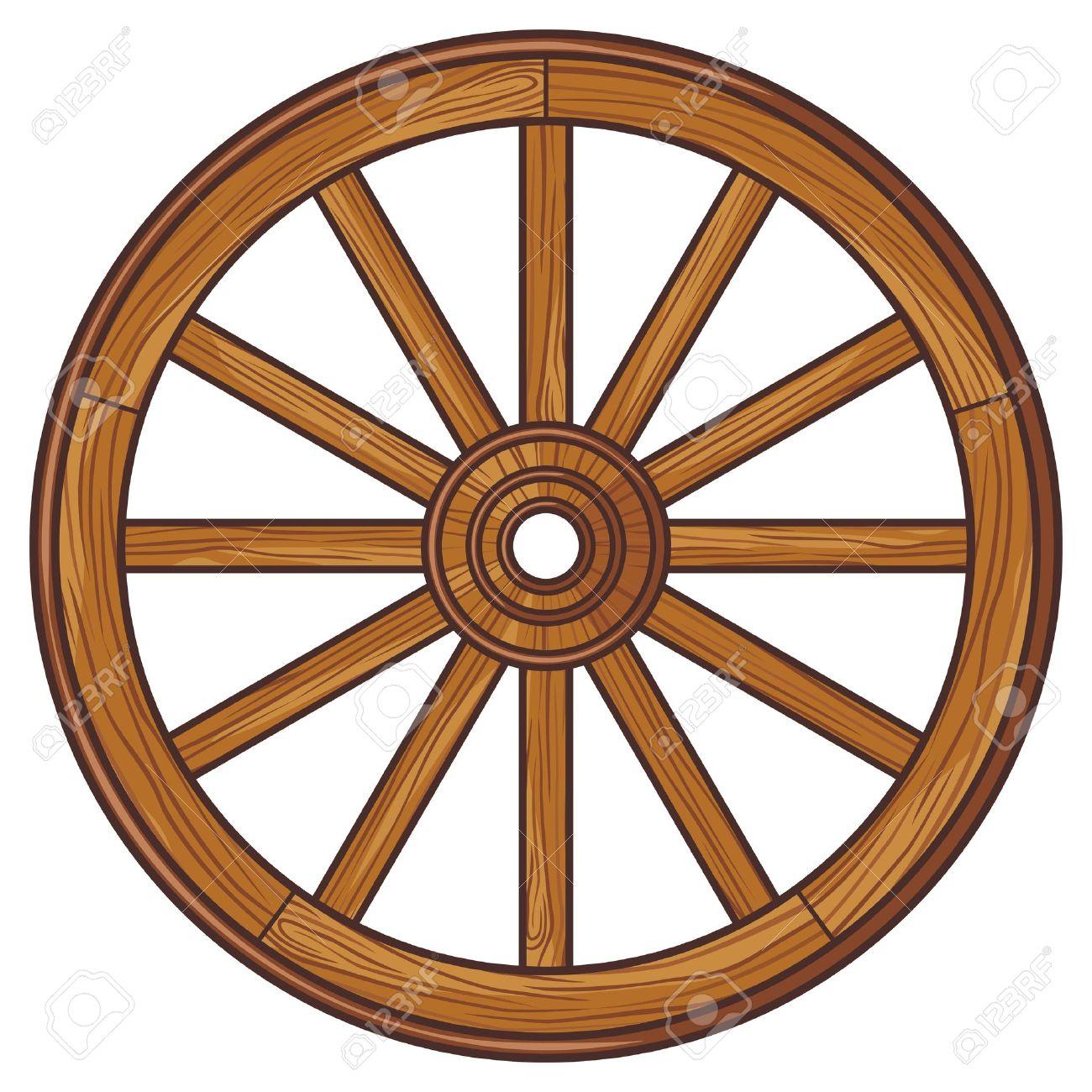 old wooden wheel - 20010582