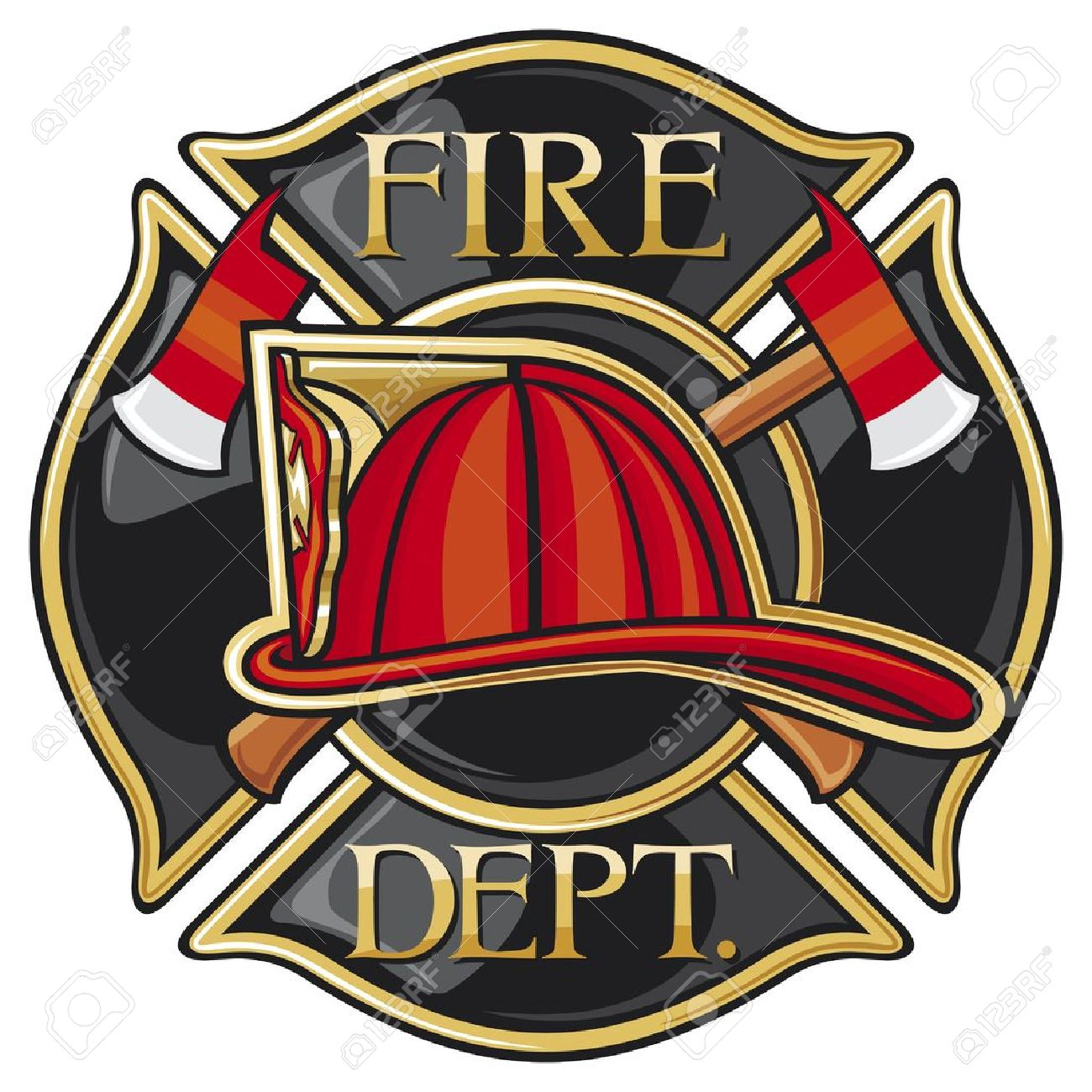 Fire department or firefighters maltese cross symbol royalty free fire department or firefighters maltese cross symbol stock vector 20303464 biocorpaavc