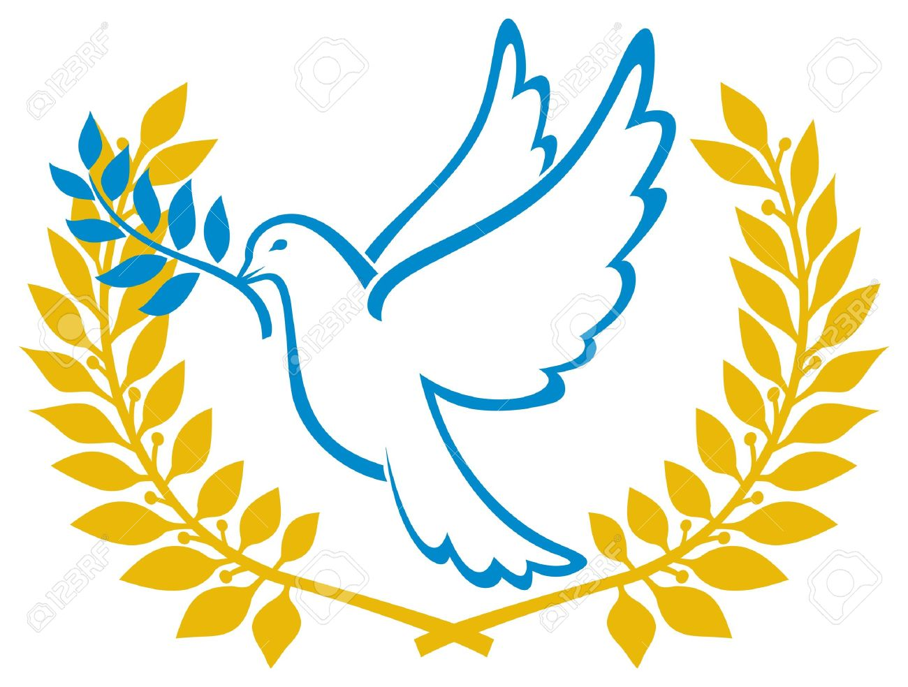 Dove Of Peace Symbol Royalty Free Cliparts Vectors And Stock