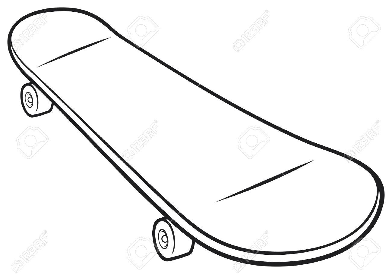 Skateboard clip art images skateboard stock photos amp clipart - Half Pipes Skateboard Vector